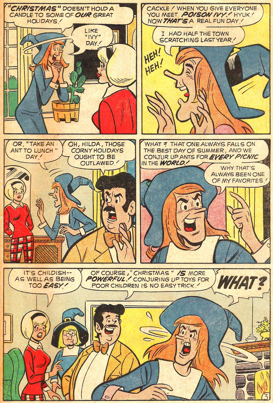 Sabrina The Teenage Witch (1971) Issue #17 #17 - English 47