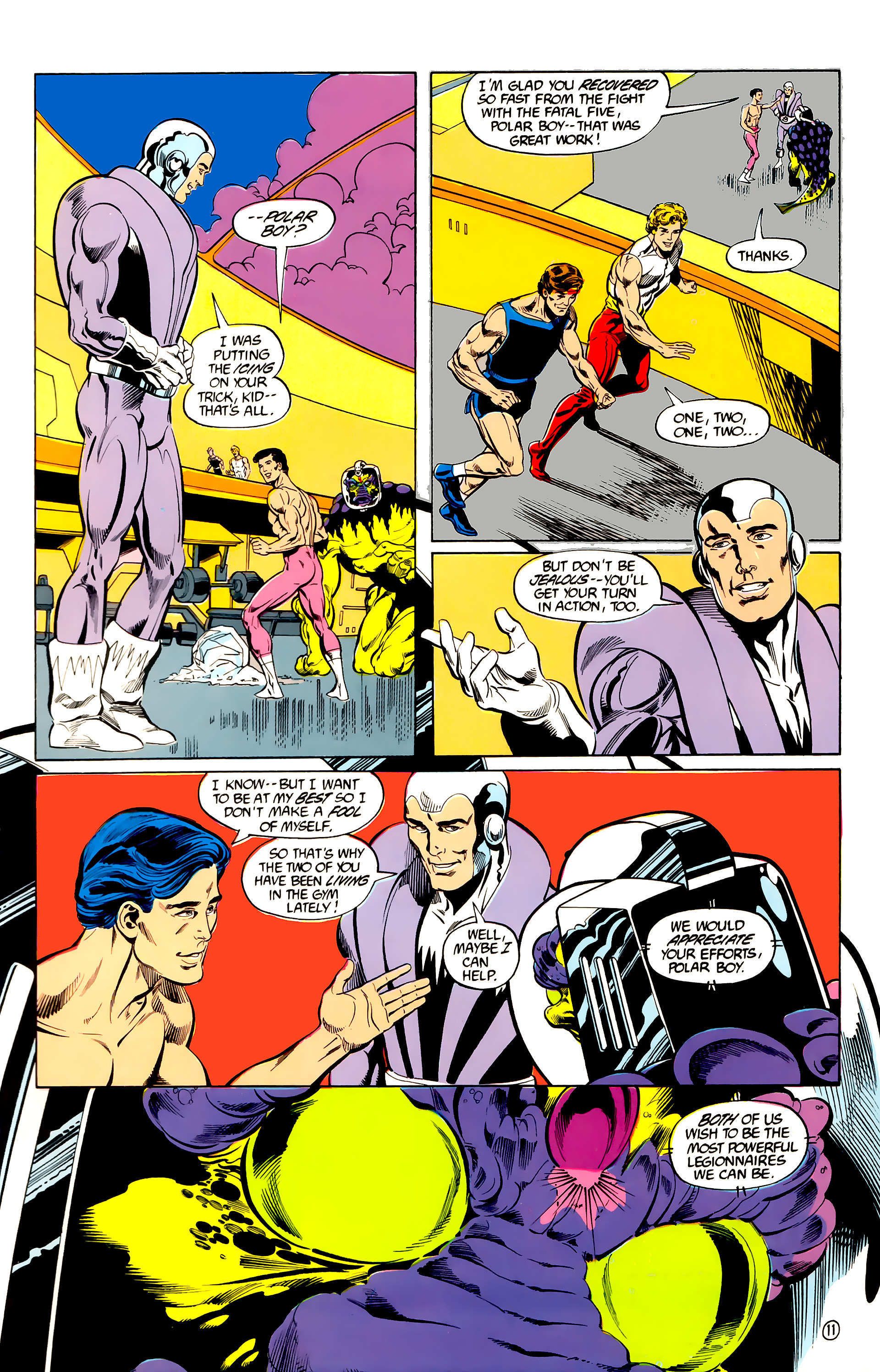 Legion of Super-Heroes (1984) 28 Page 12