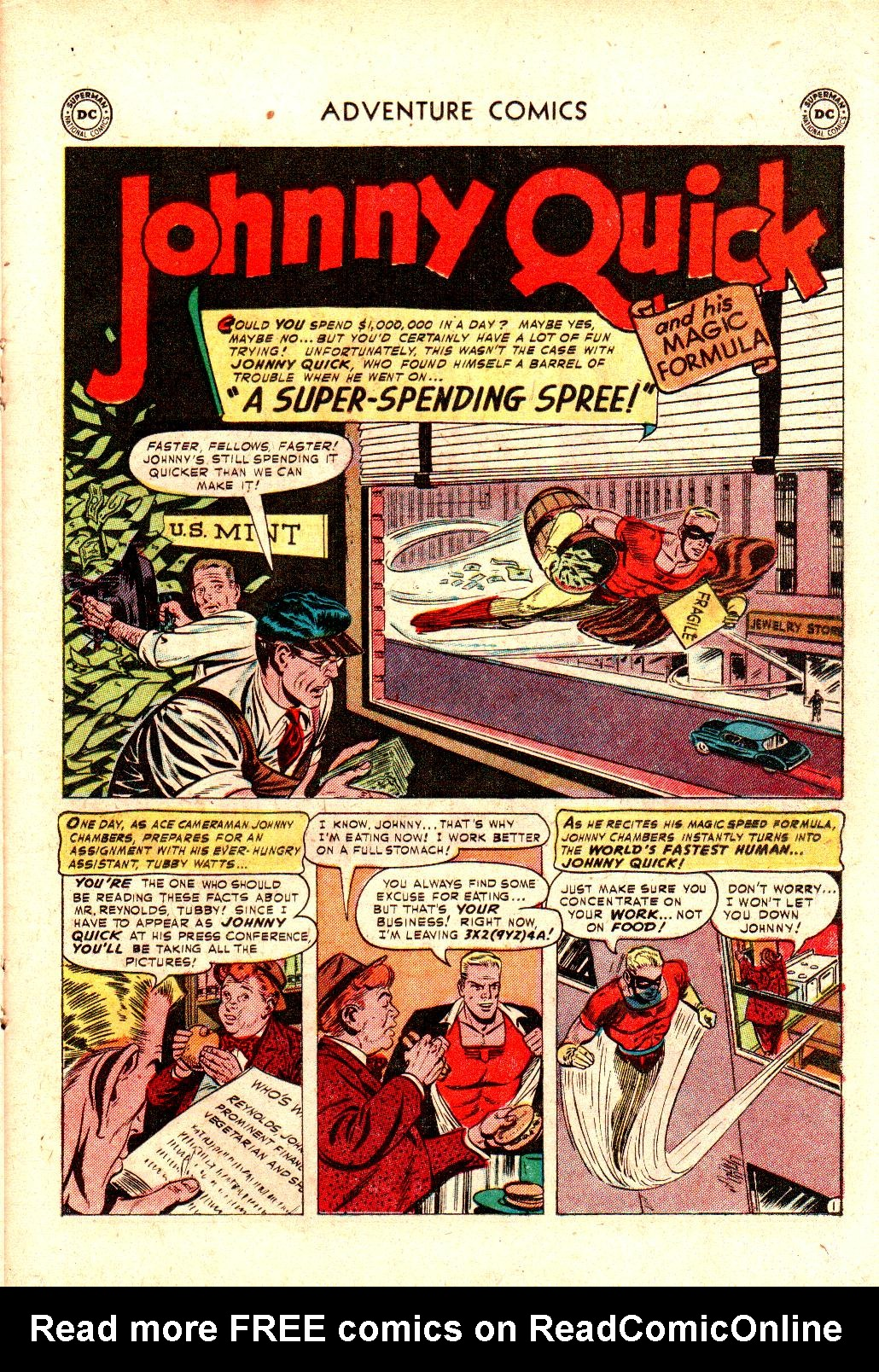 Read online Adventure Comics (1938) comic -  Issue #173 - 25