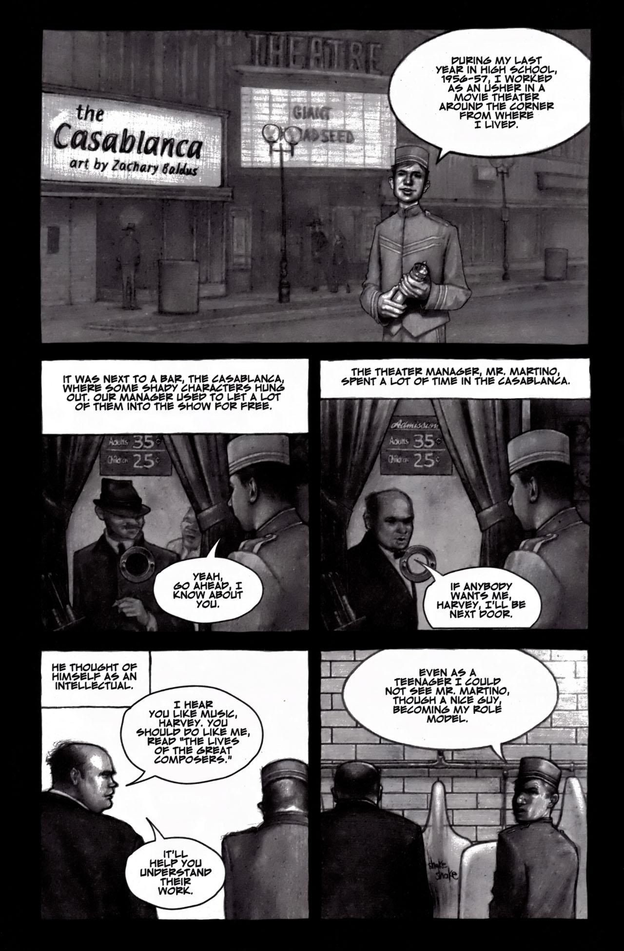 Read online American Splendor (2008) comic -  Issue #1 - 28