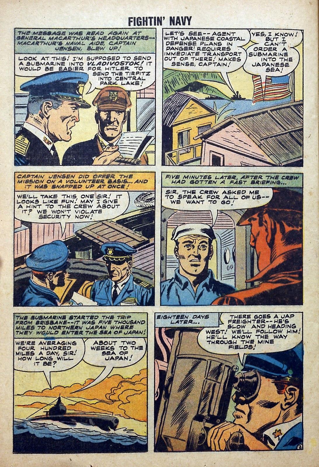 Read online Fightin' Navy comic -  Issue #84 - 24