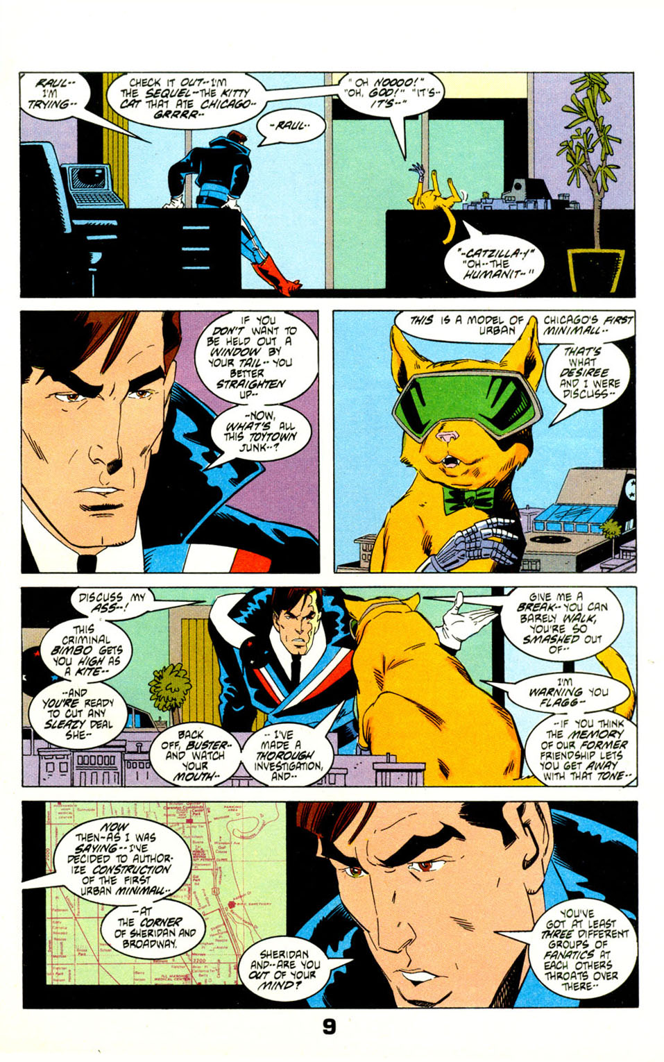 Read online American Flagg! comic -  Issue #29 - 12