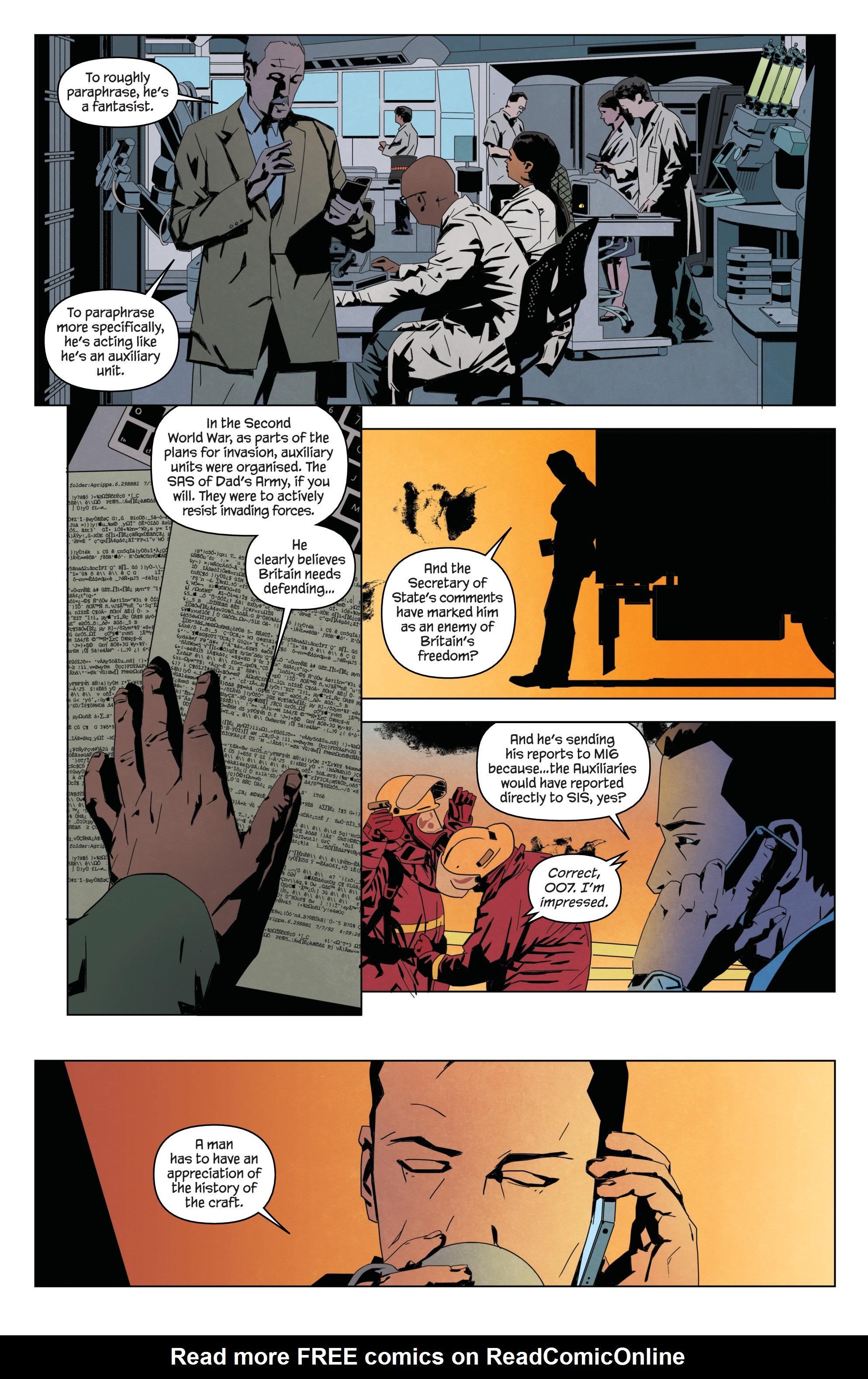 Read online James Bond: Service comic -  Issue # Full - 17