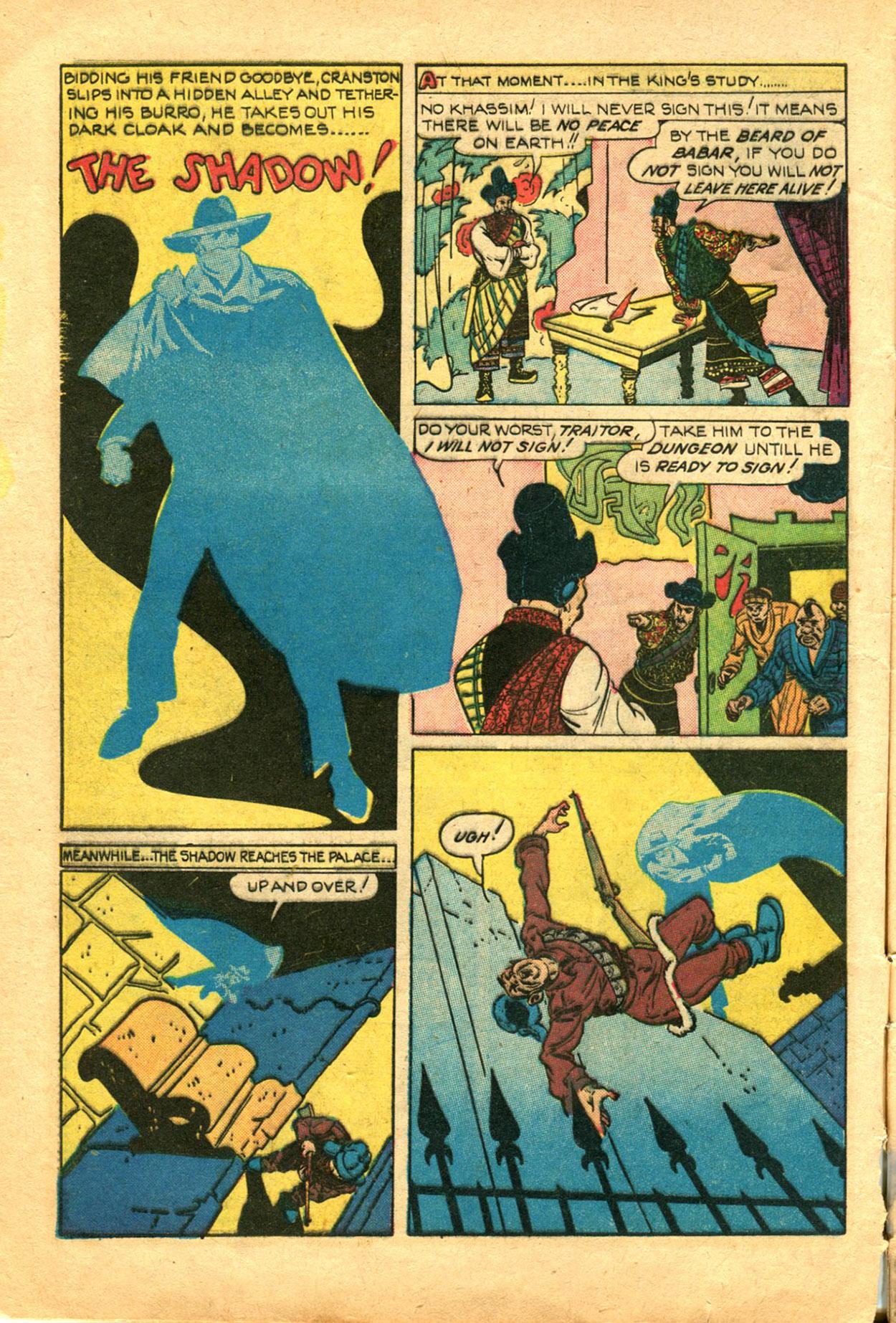 Read online Shadow Comics comic -  Issue #78 - 8