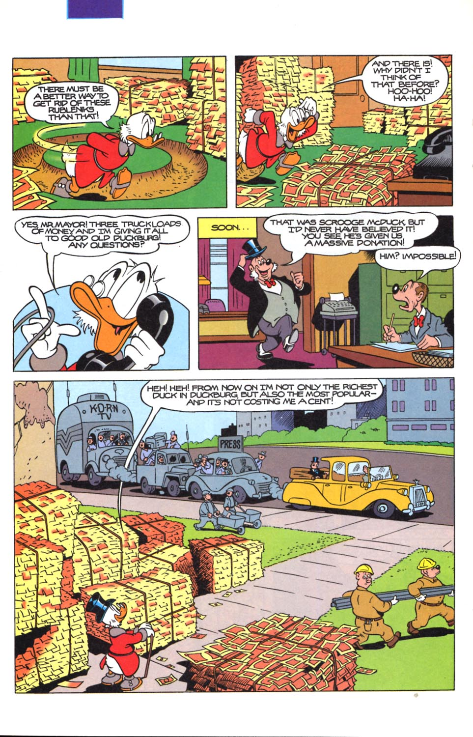 Read online Uncle Scrooge (1953) comic -  Issue #291 - 23