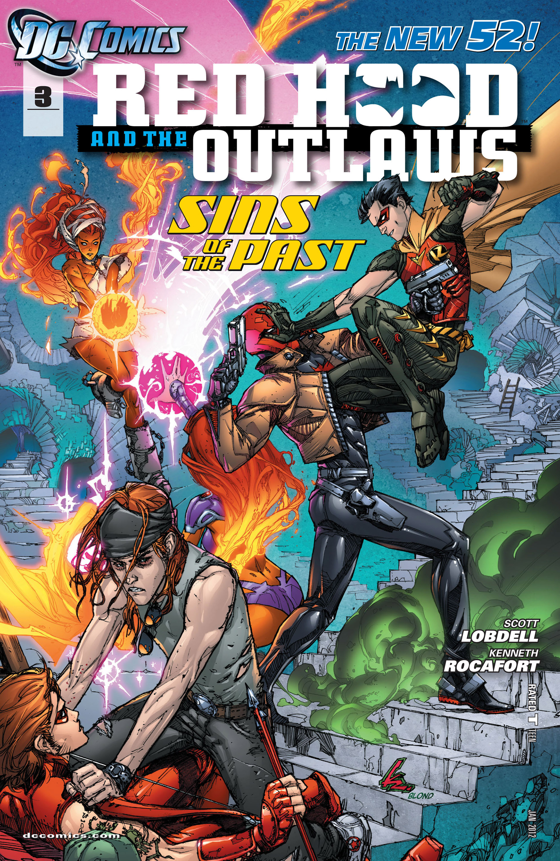 Red Hood And The Outlaws (2011) issue 3 - Page 1