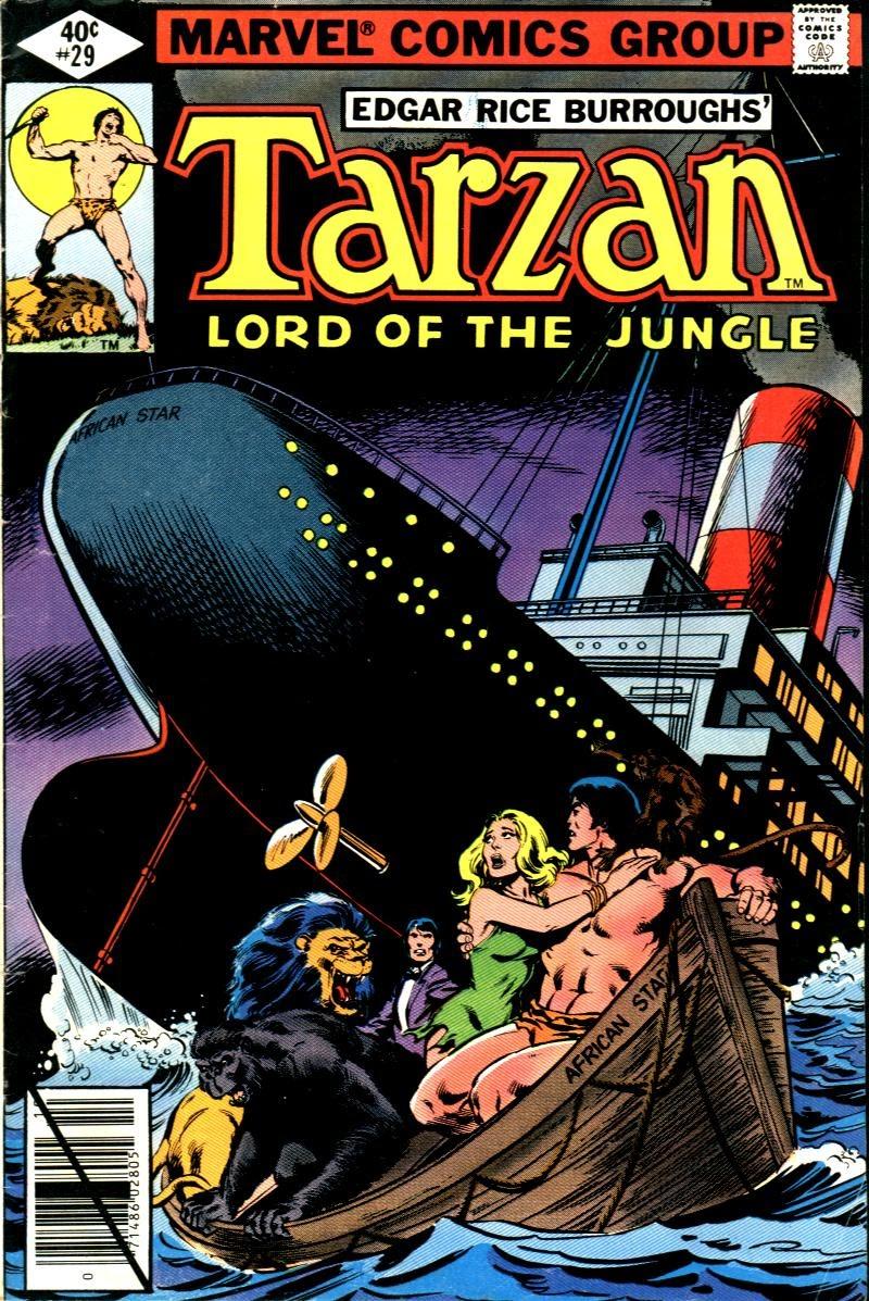 Tarzan (1977) issue 29 - Page 1