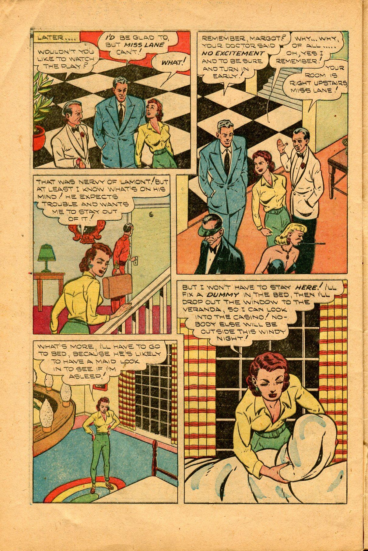 Read online Shadow Comics comic -  Issue #94 - 40