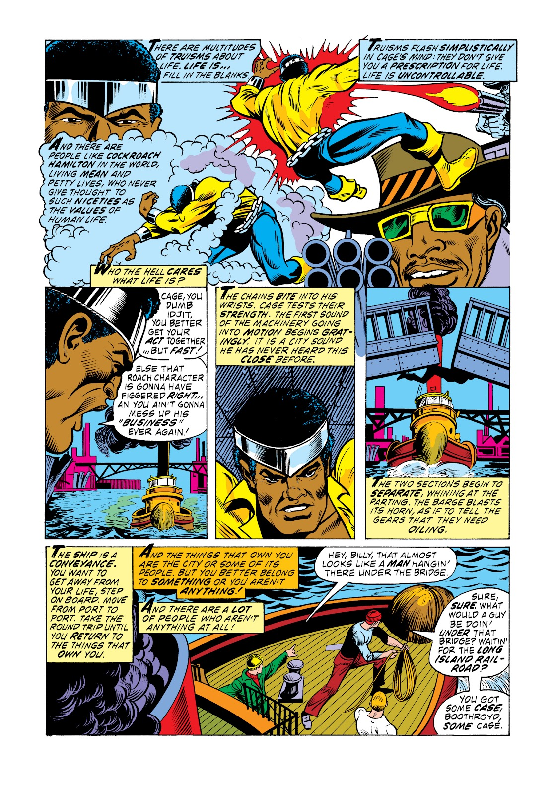 Read online Marvel Masterworks: Luke Cage, Power Man comic -  Issue # TPB 2 (Part 3) - 60