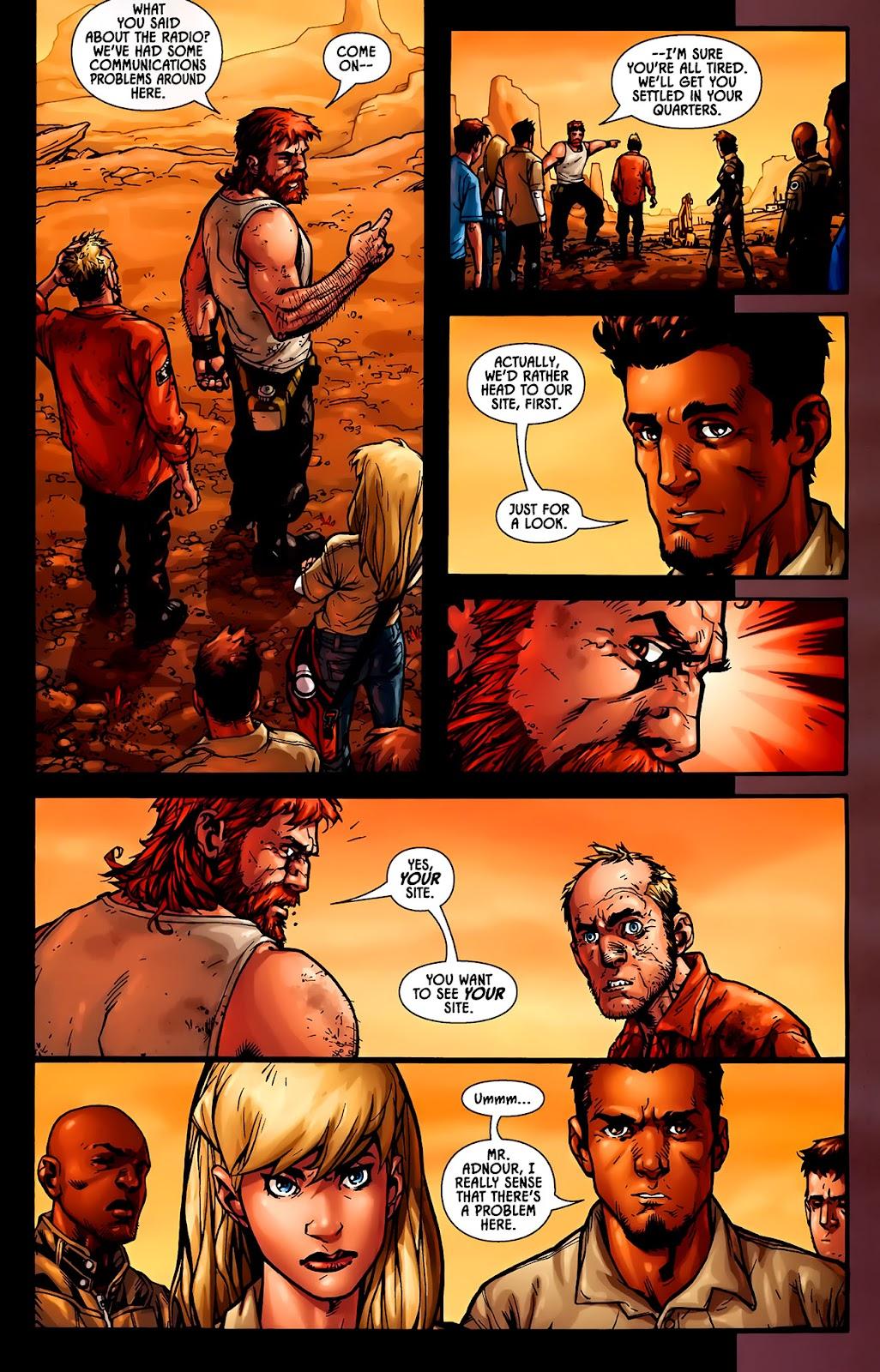 Read online Aliens (2009) comic -  Issue #1 - 17