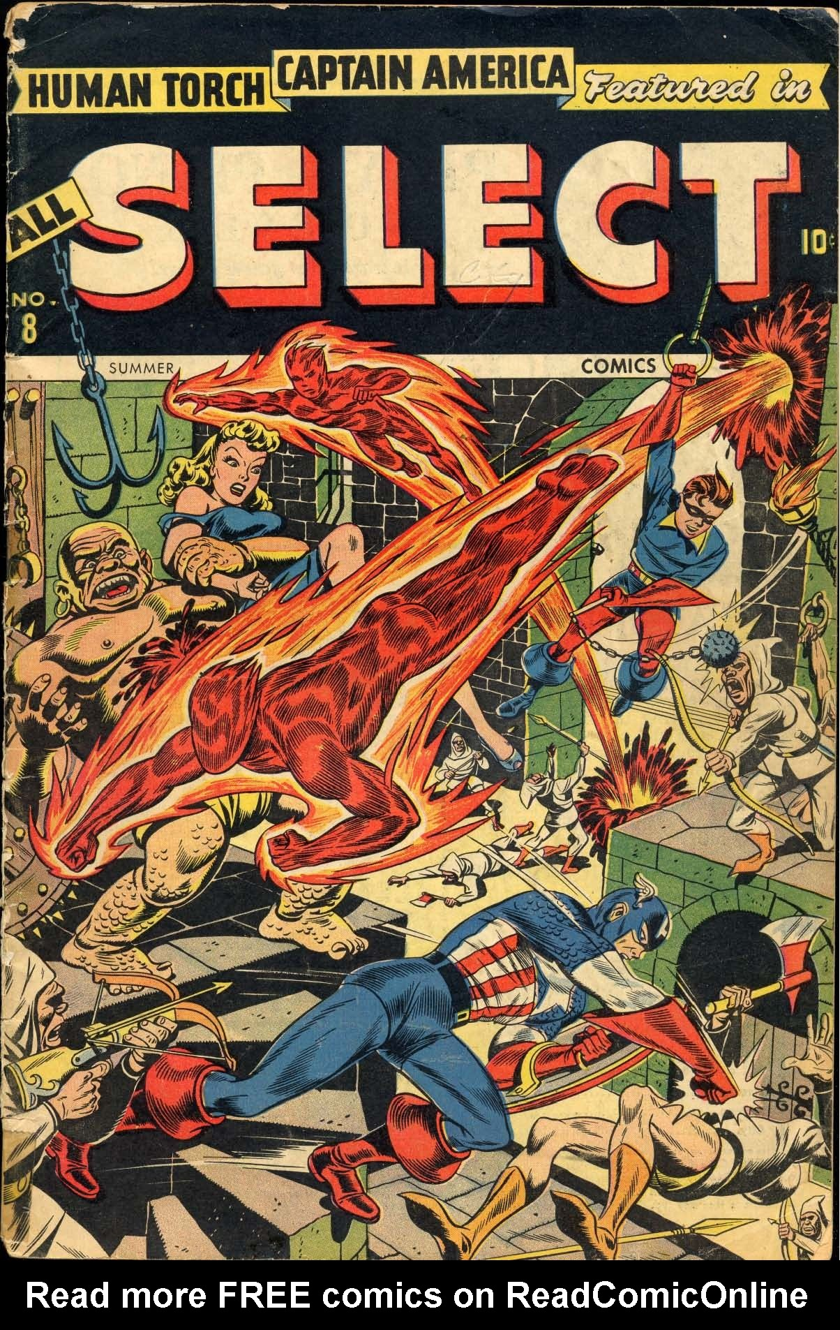 Read online All-Select Comics comic -  Issue #8 - 1