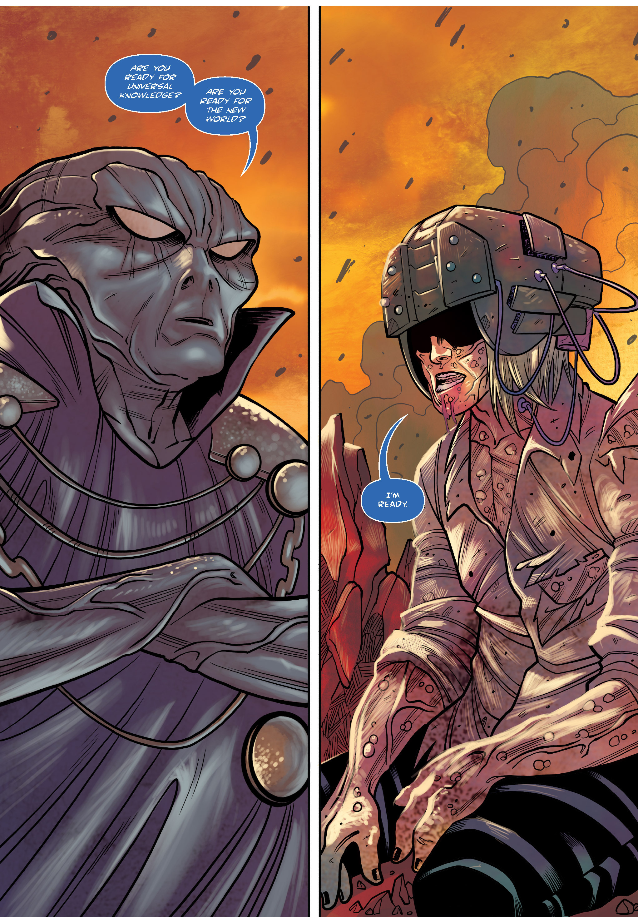 Read online The Shadow of a Terrible Thing comic -  Issue # TPB - 93