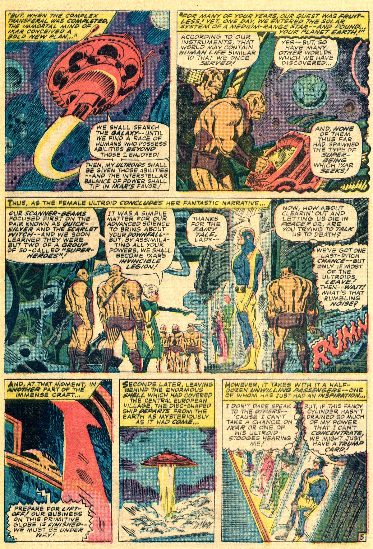 The Avengers (1963) 37 Page 8