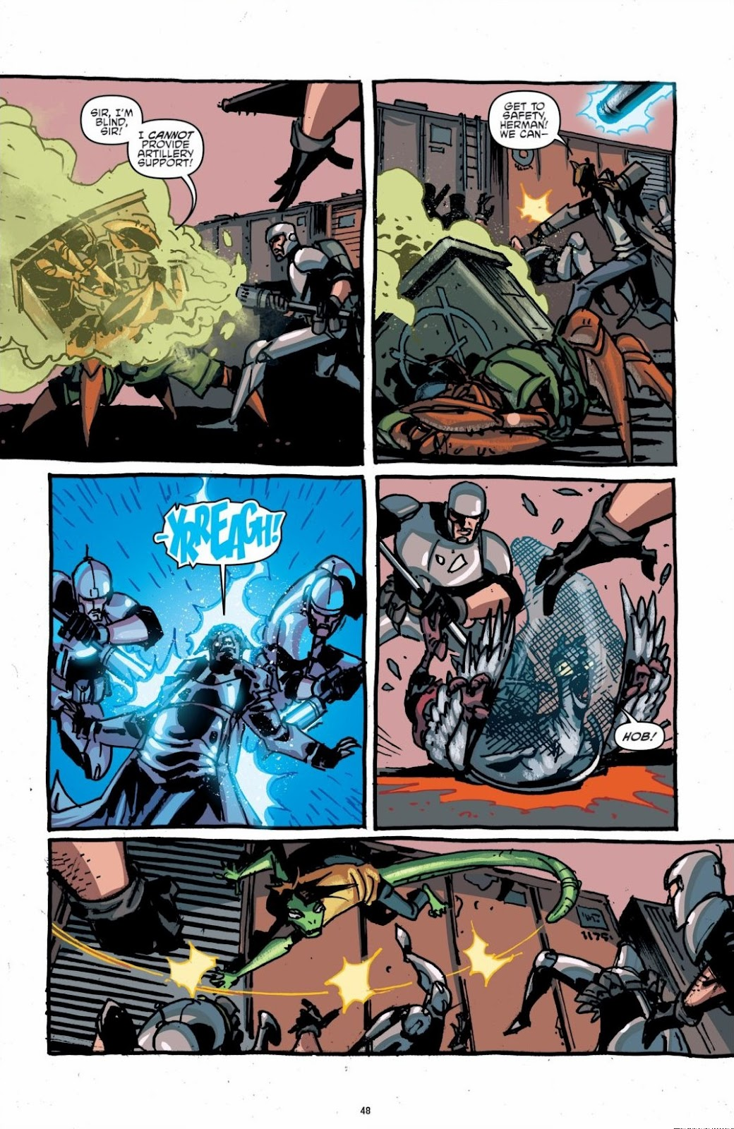 Read online Teenage Mutant Ninja Turtles: The IDW Collection comic -  Issue # TPB 6 (Part 1) - 47