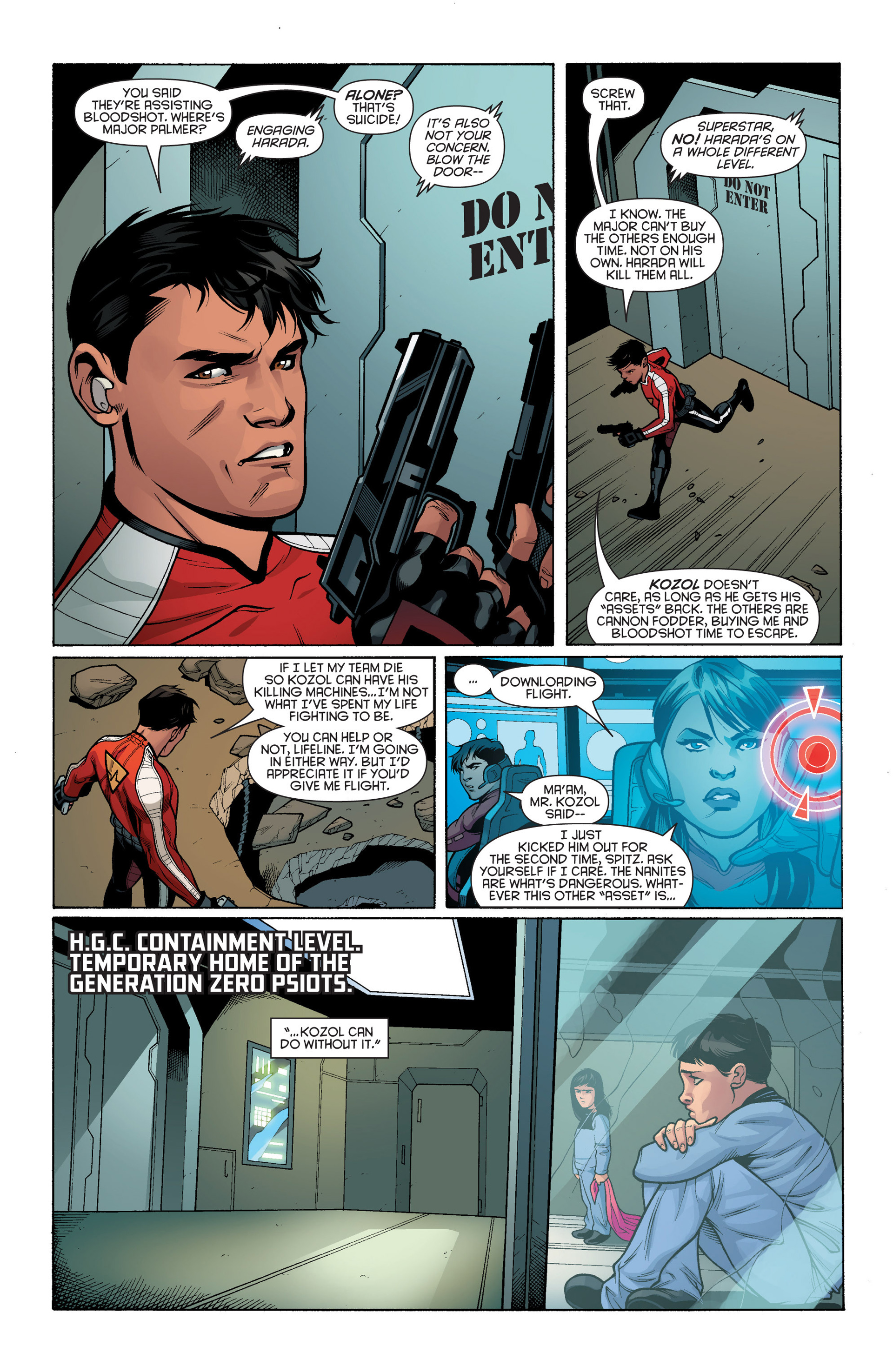 Read online Bloodshot and H.A.R.D.Corps comic -  Issue #17 - 13