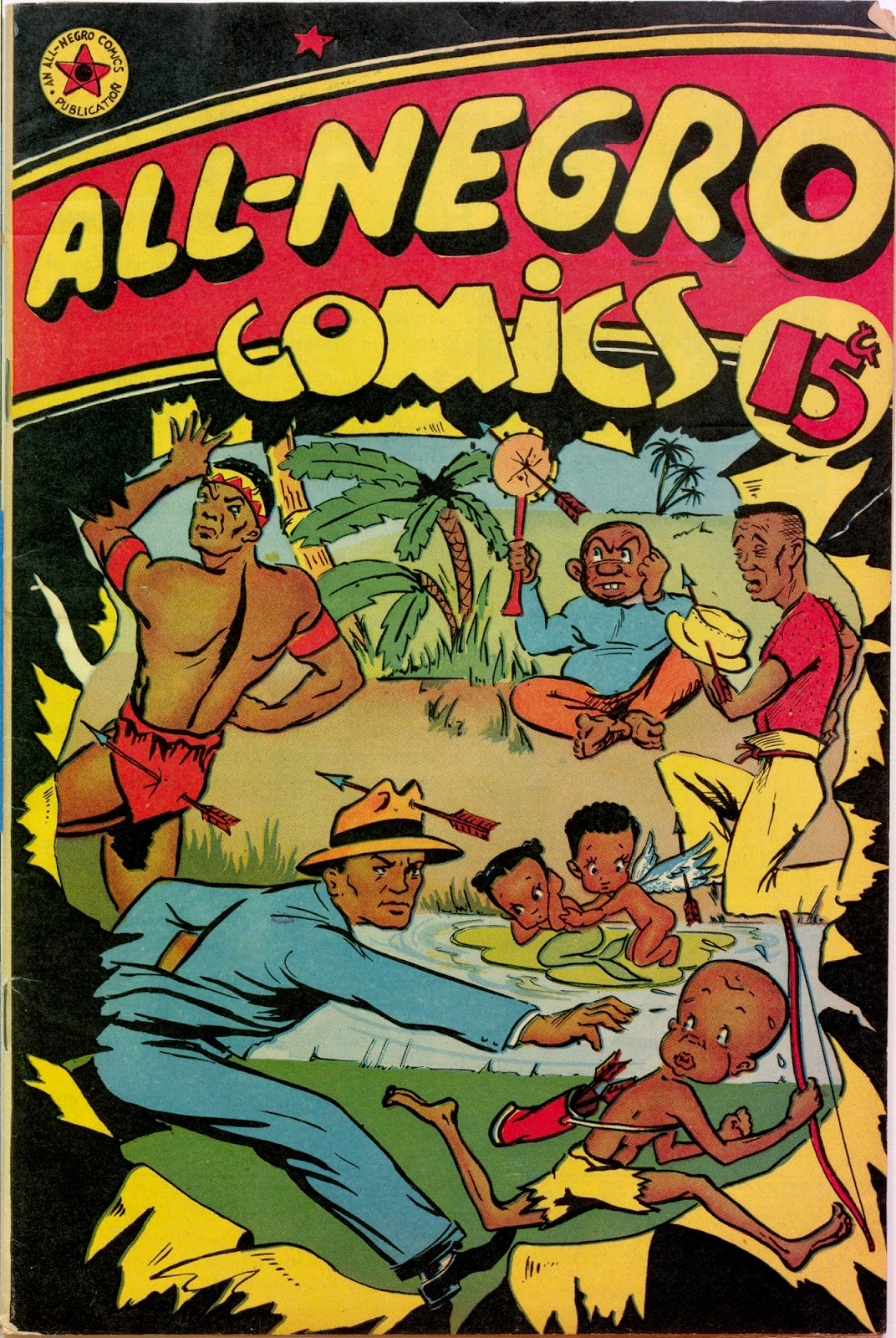 All-Negro Comics issue Full - Page 1