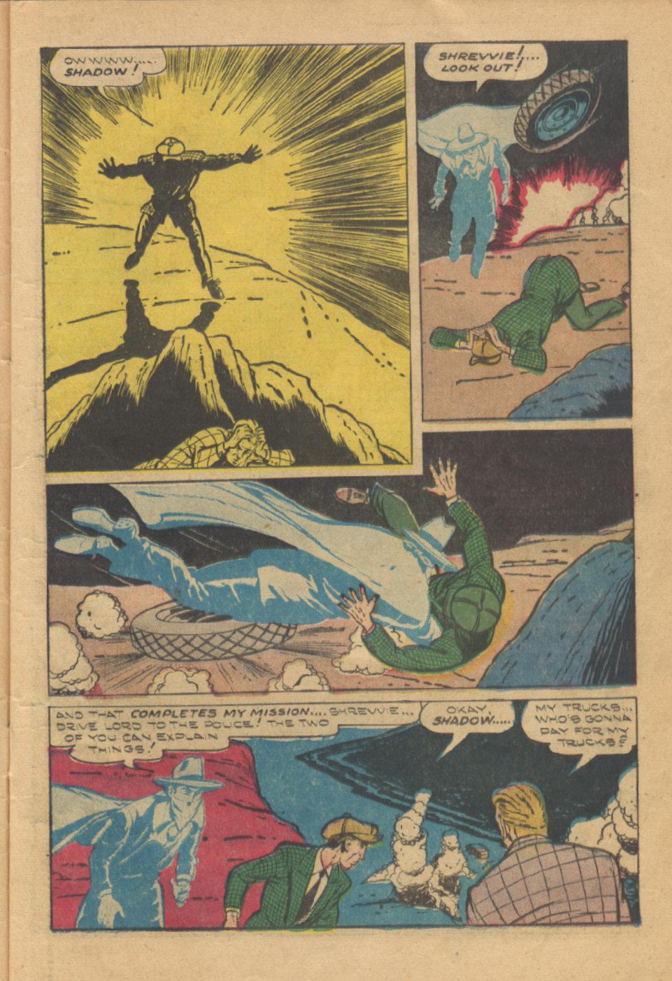 Read online Shadow Comics comic -  Issue #95 - 15