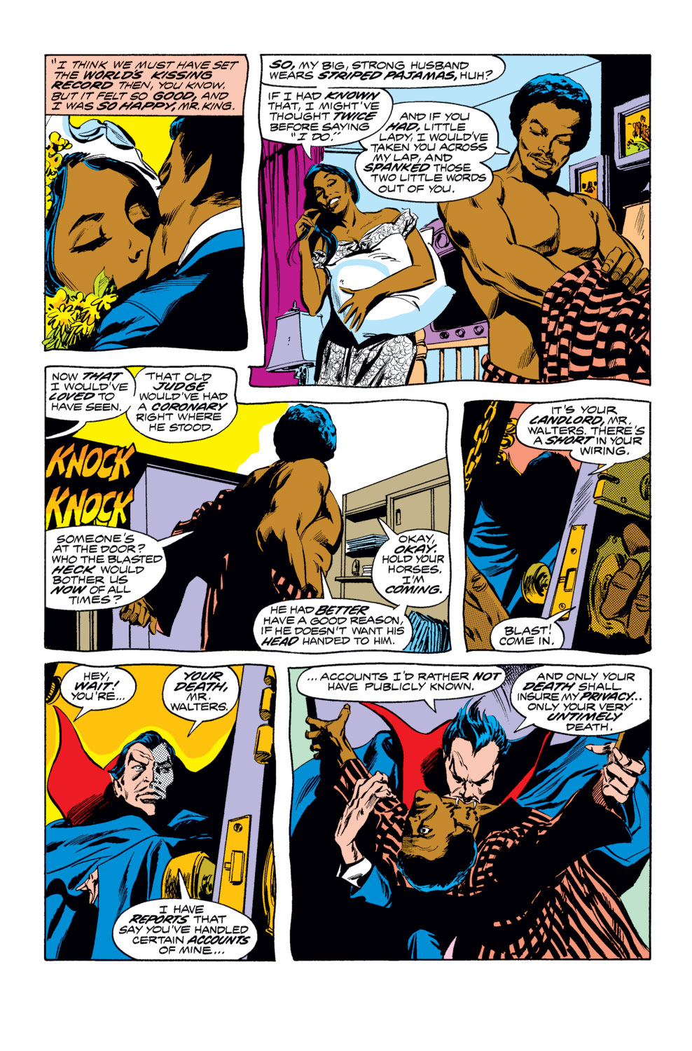 Tomb of Dracula (1972) issue 25 - Page 4