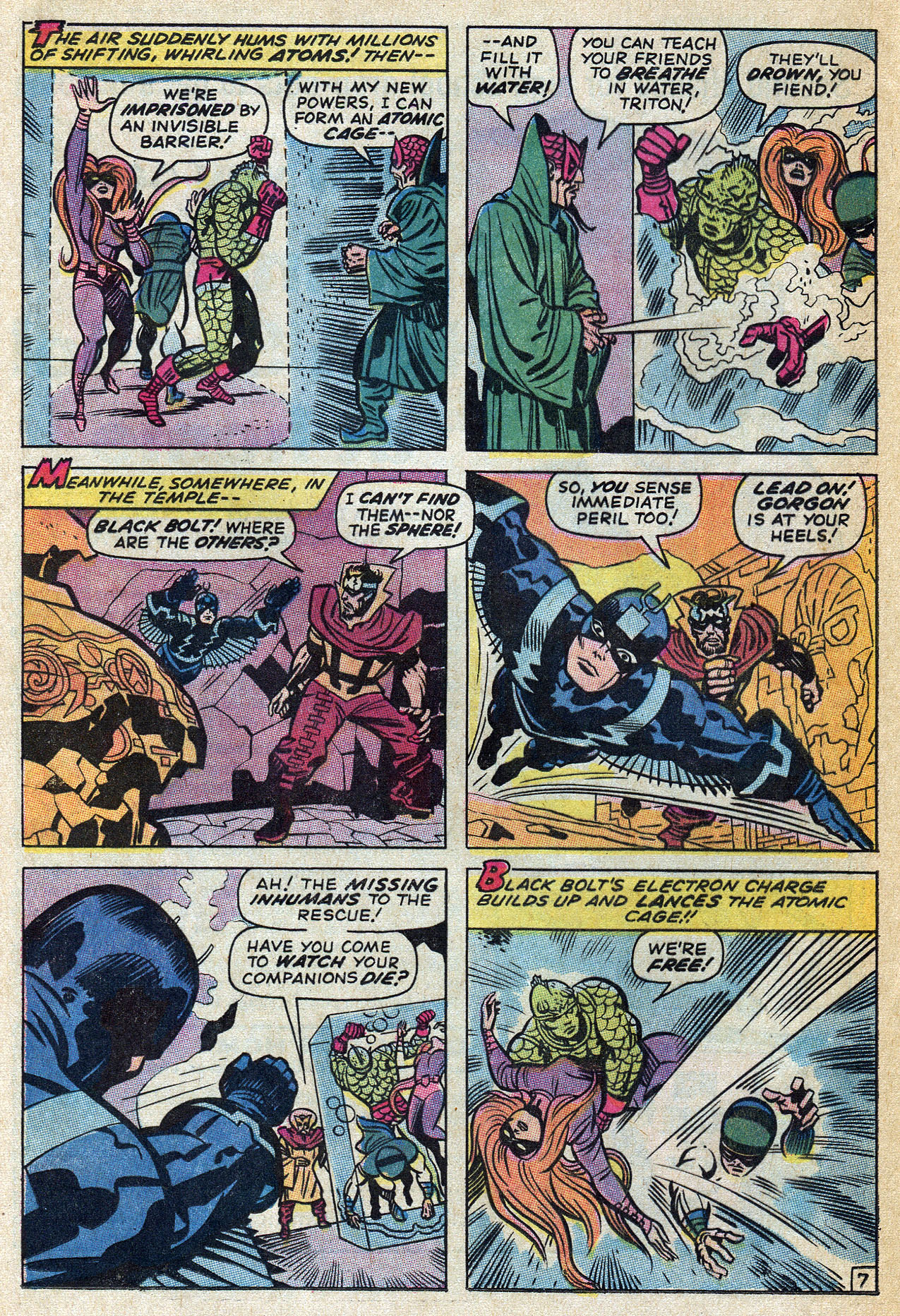 Read online Amazing Adventures (1970) comic -  Issue #4 - 12