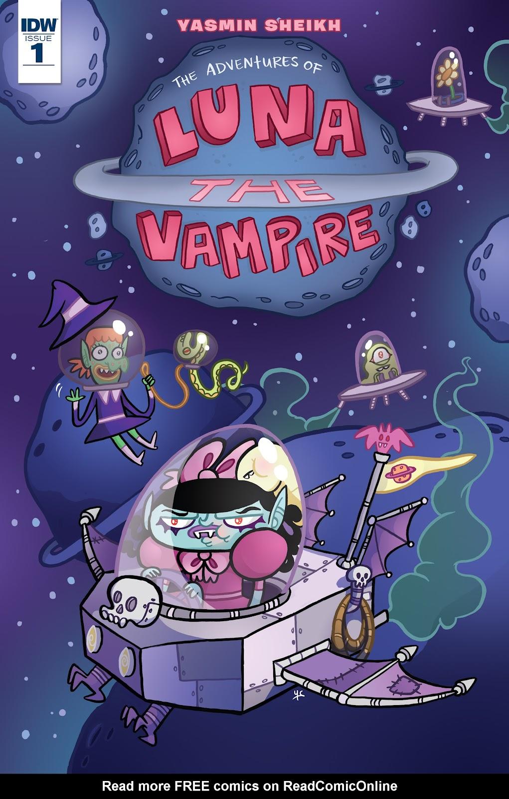 Luna the Vampire 1 Page 1