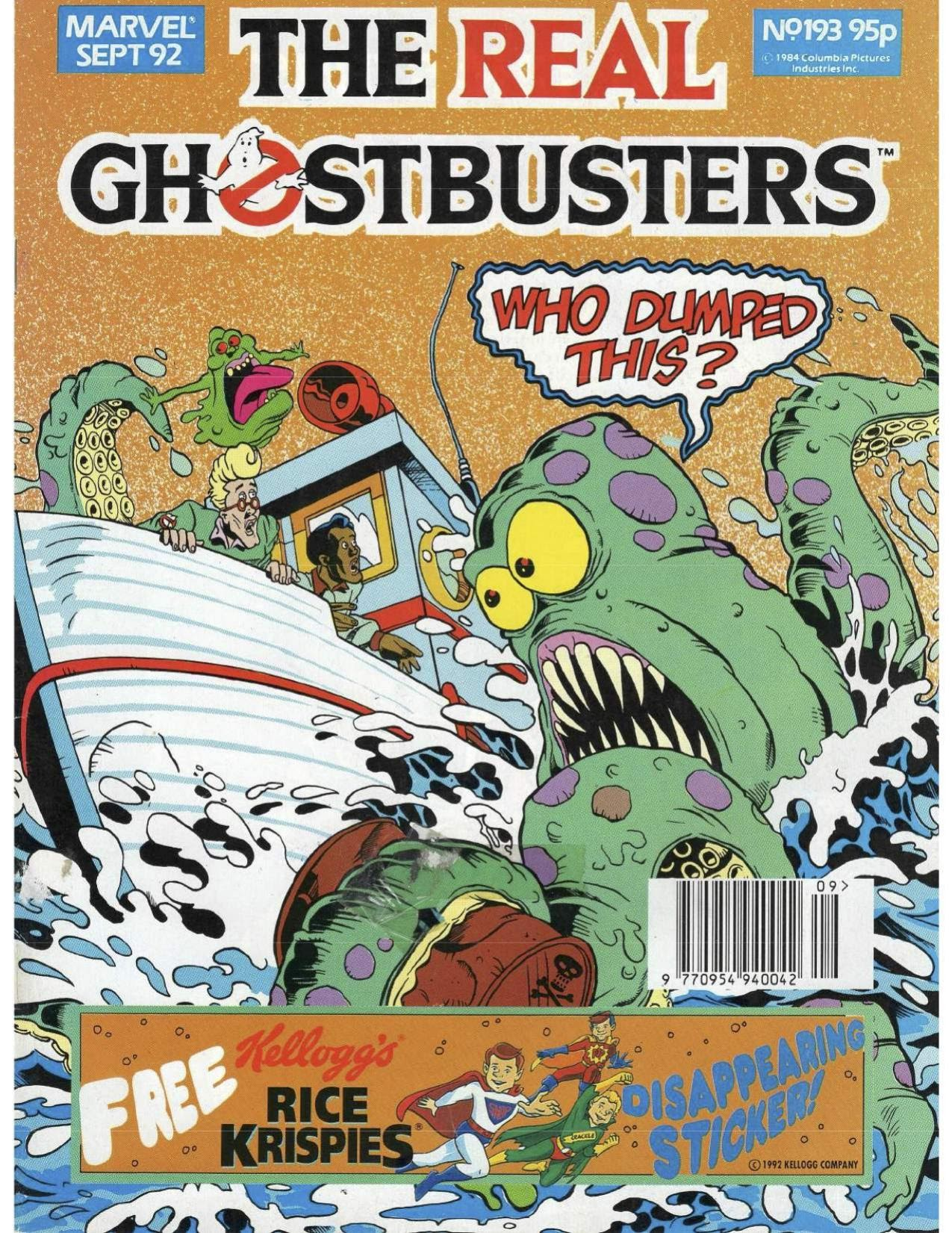 The Real Ghostbusters 193 Page 1
