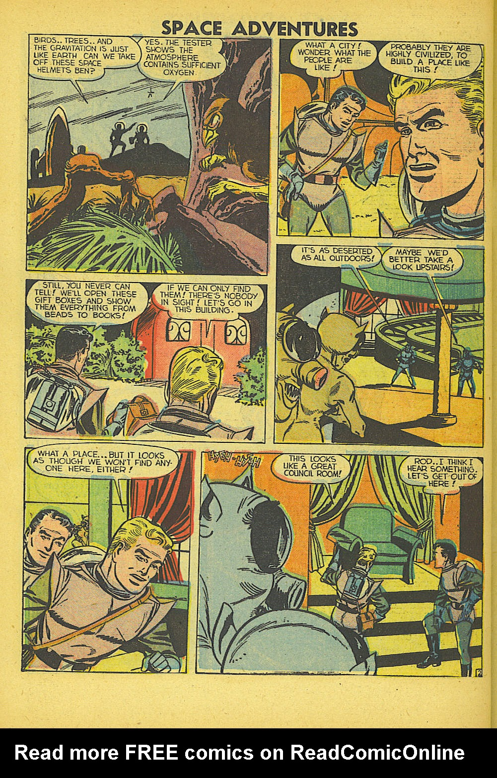 Space Adventures (1952) issue 5 - Page 27
