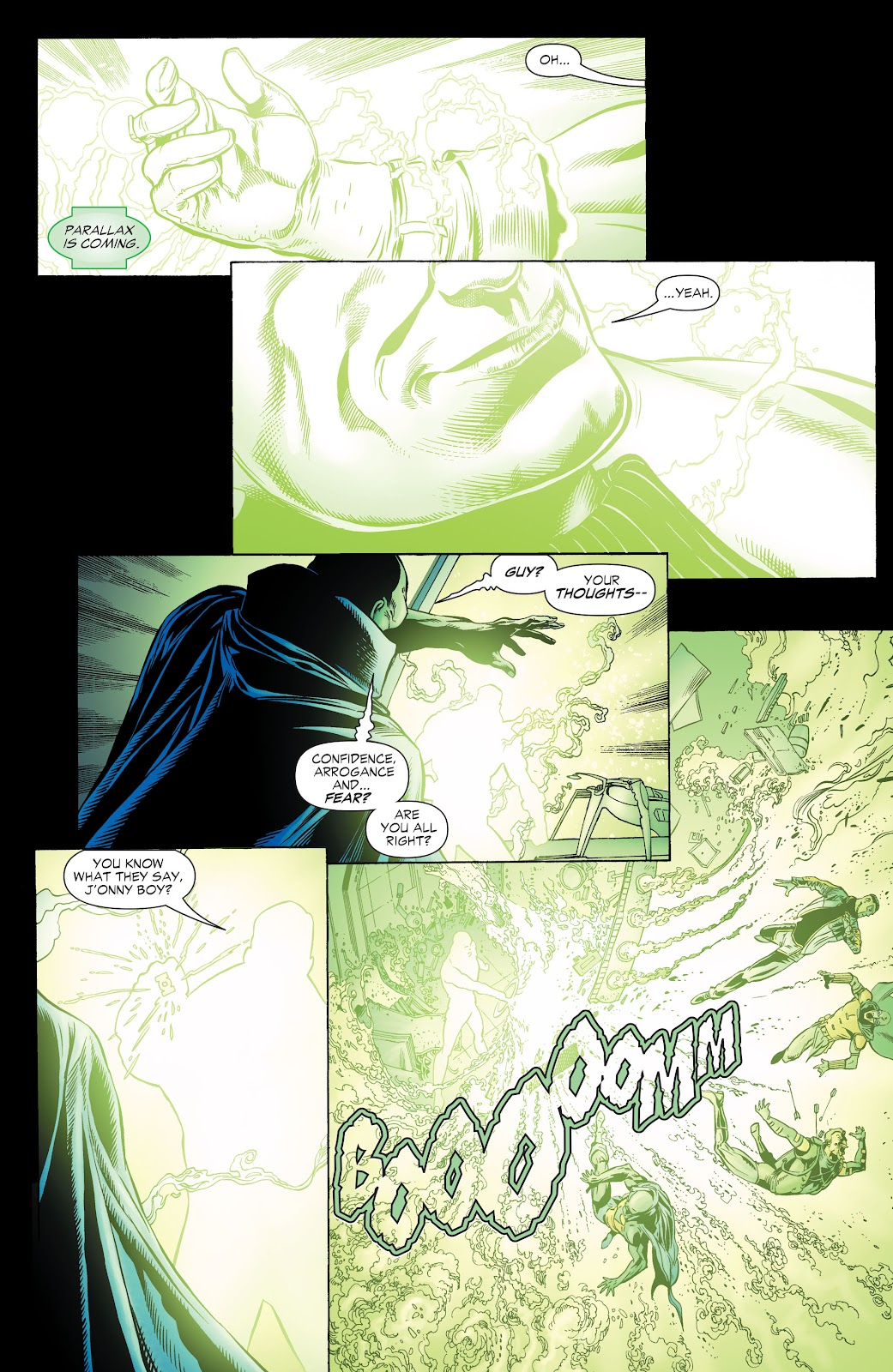 Read online Green Lantern by Geoff Johns comic -  Issue # TPB 1 (Part 1) - 59