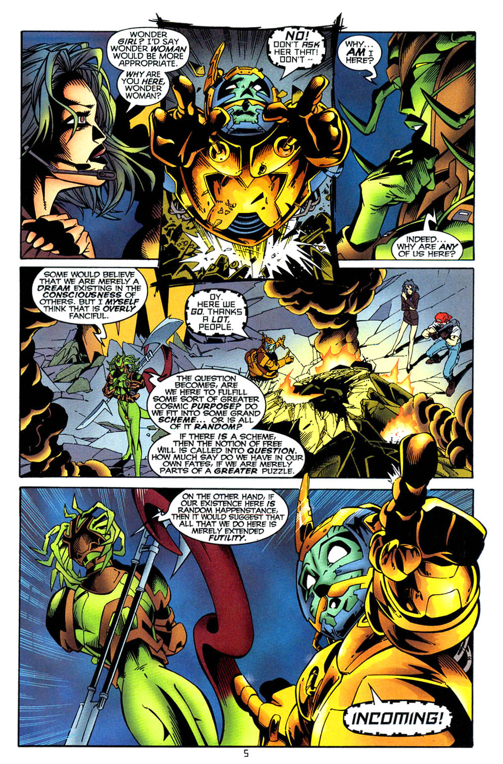 Read online Tangent Comics/ Wonder Woman comic -  Issue # Full - 6