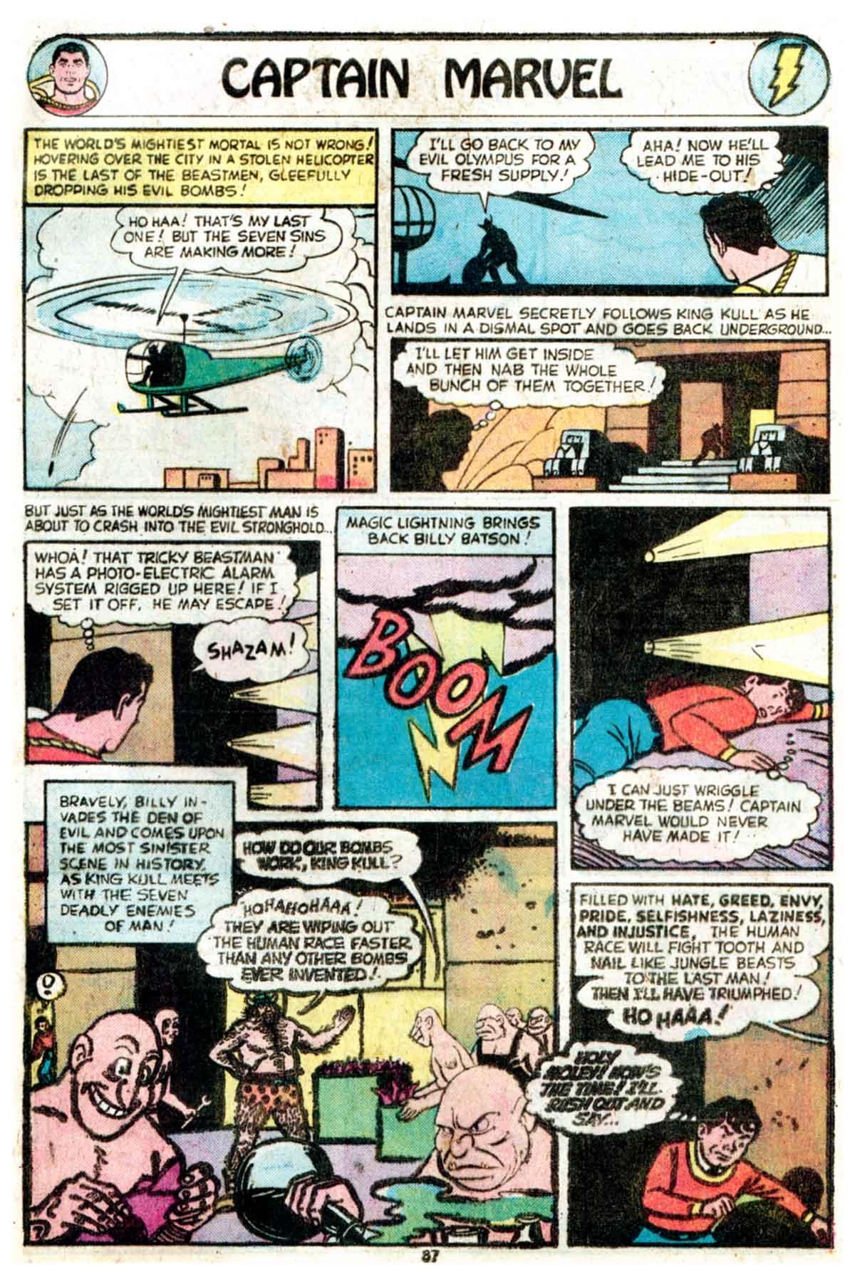 Read online Shazam! (1973) comic -  Issue #16 - 87