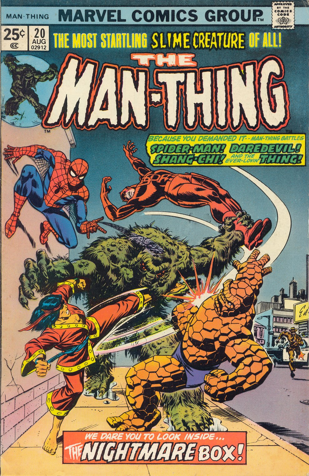 Man-Thing (1974) issue 20 - Page 1