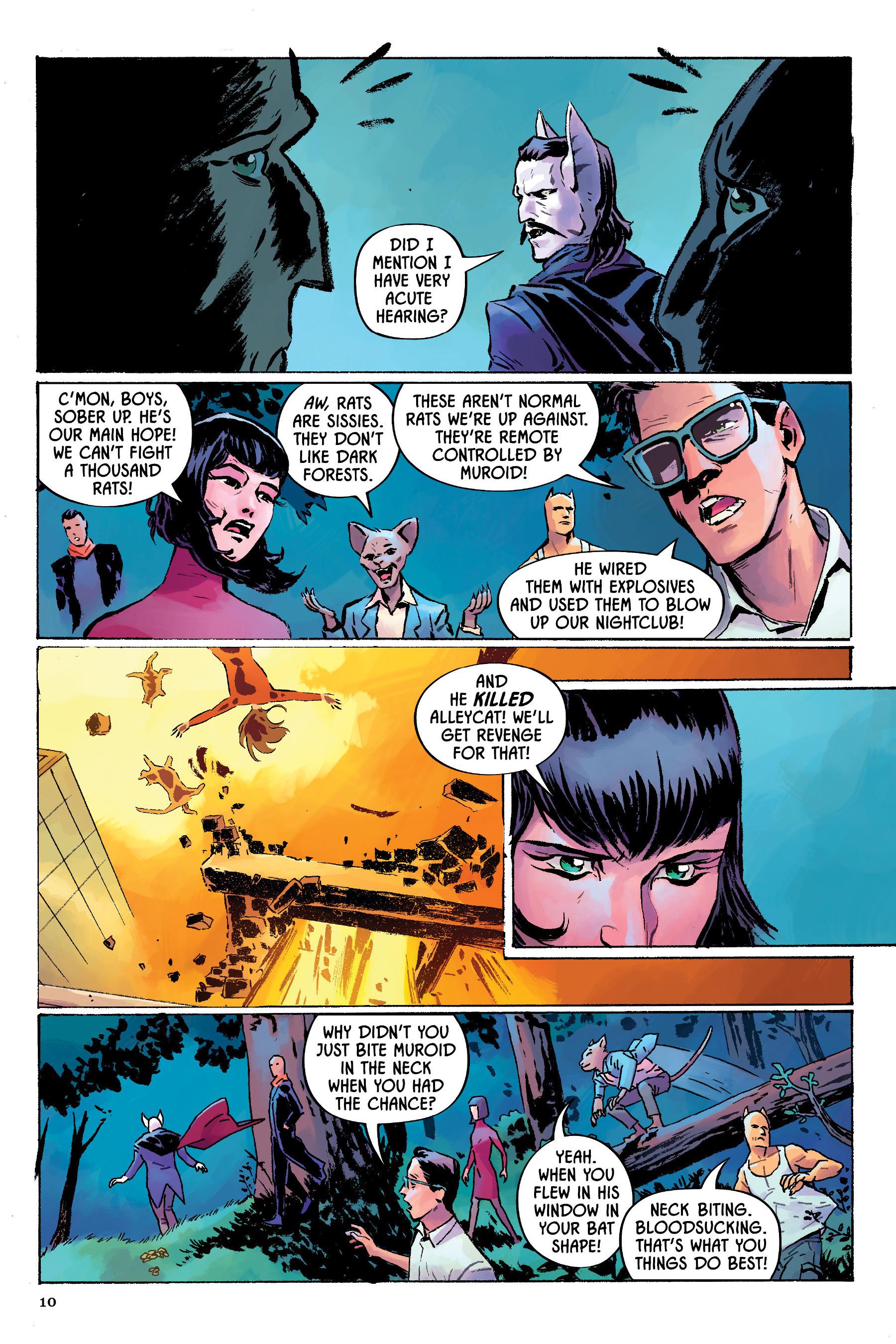 Read online Angel Catbird comic -  Issue # TPB 2 - 11