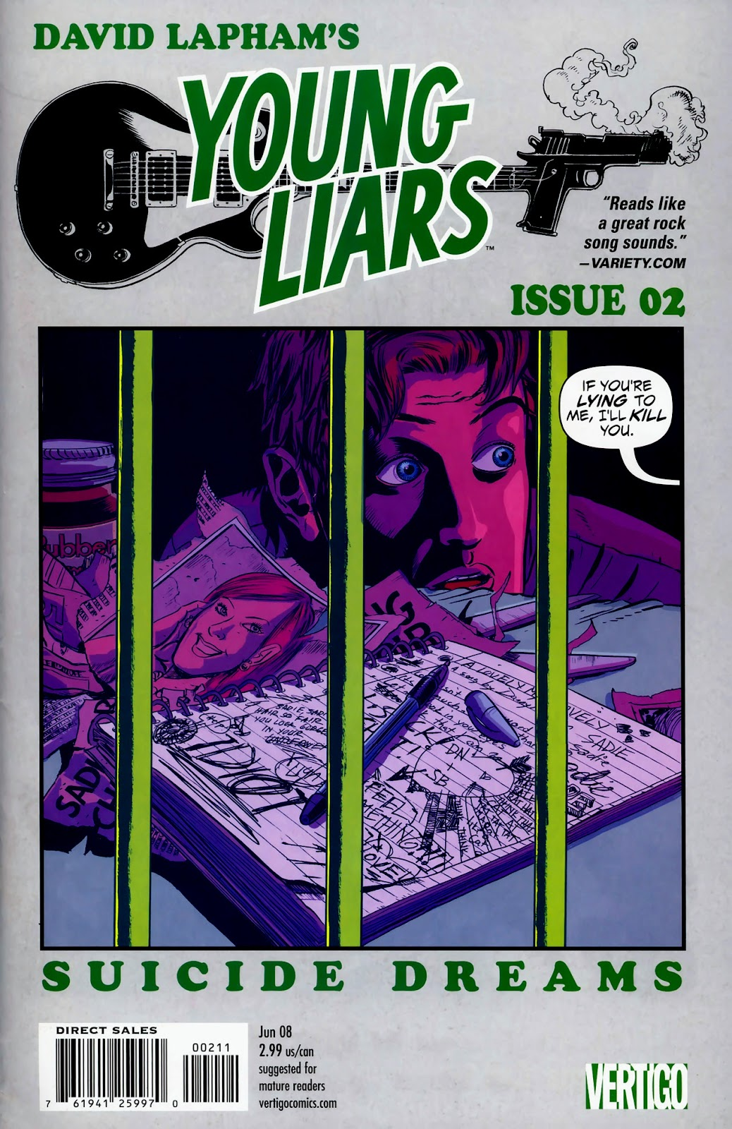 Young Liars issue 2 - Page 1