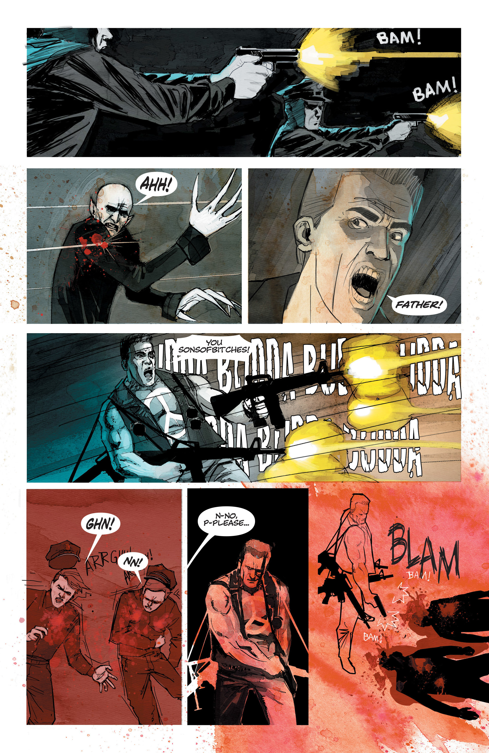 Read online C.O.W.L. comic -  Issue #10 - 21