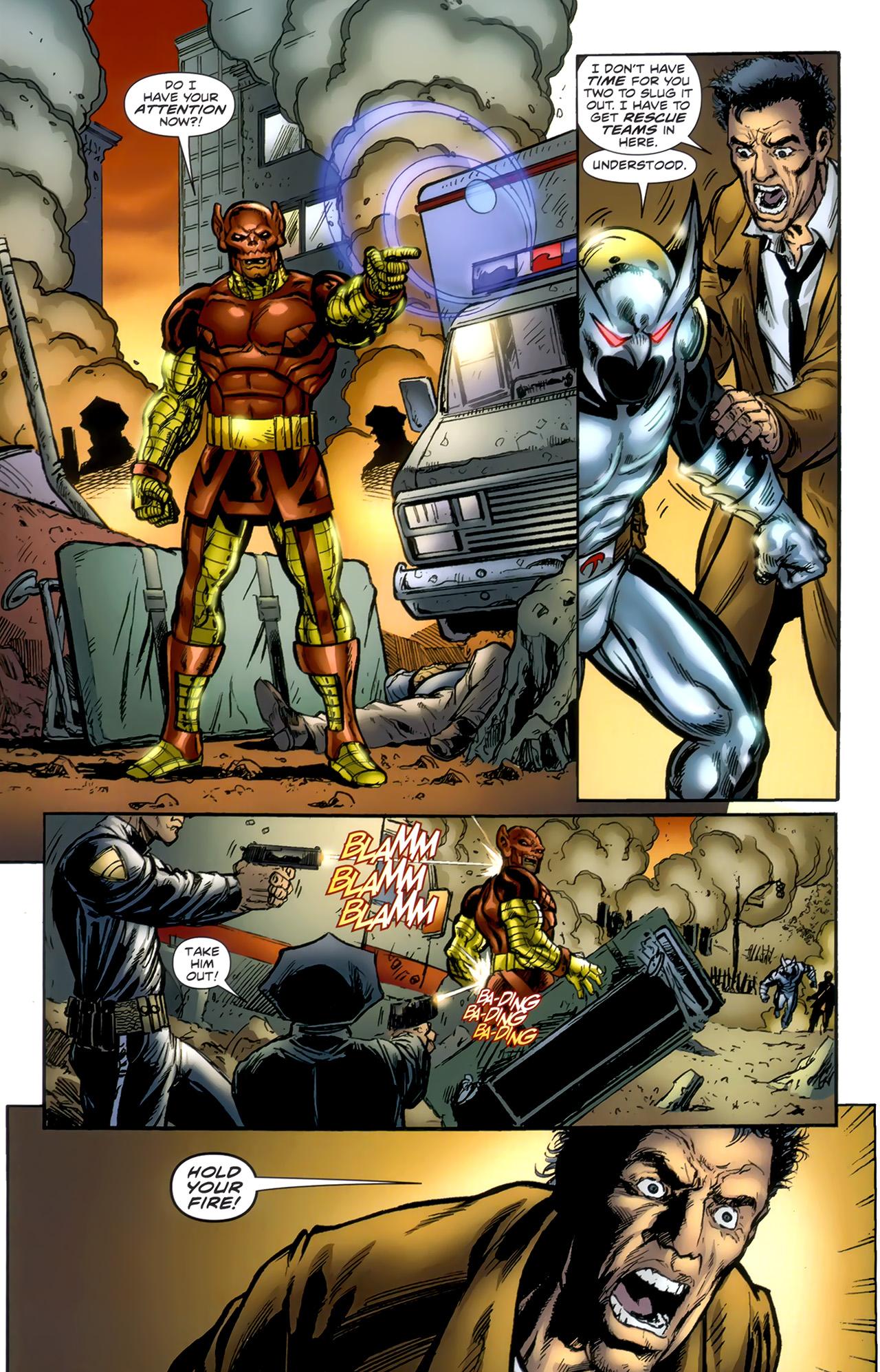 Read online ShadowHawk (2010) comic -  Issue #1 - 8