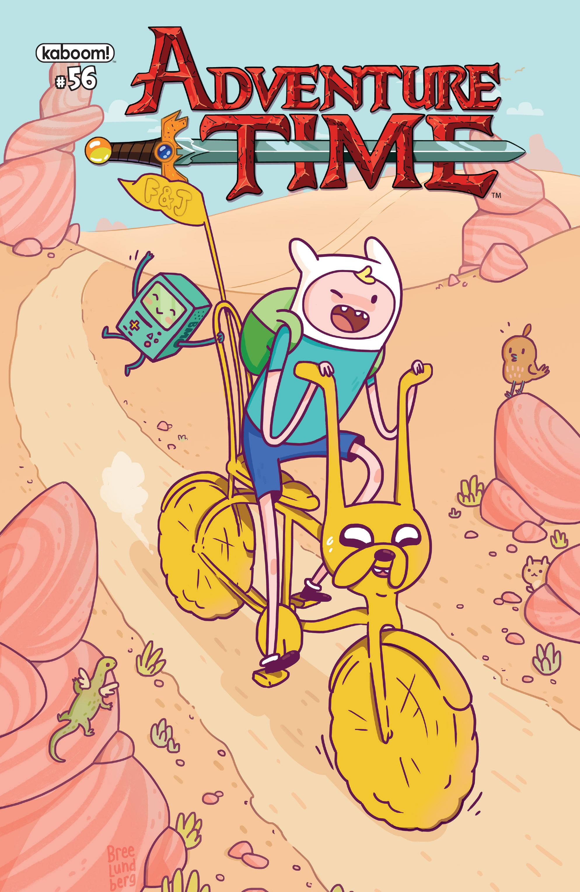 Read online Adventure Time comic -  Issue #56 - 1