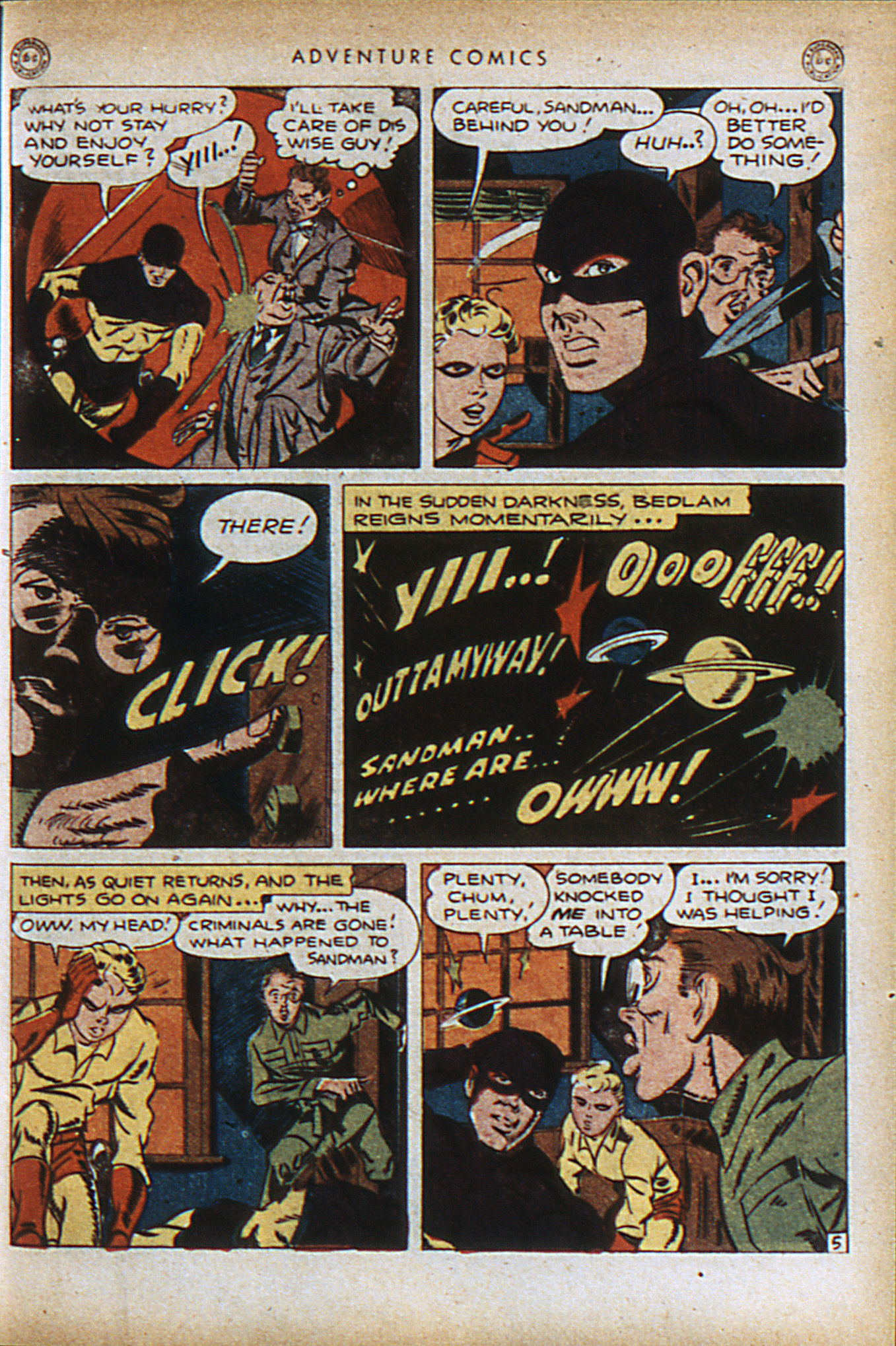 Read online Adventure Comics (1938) comic -  Issue #96 - 8