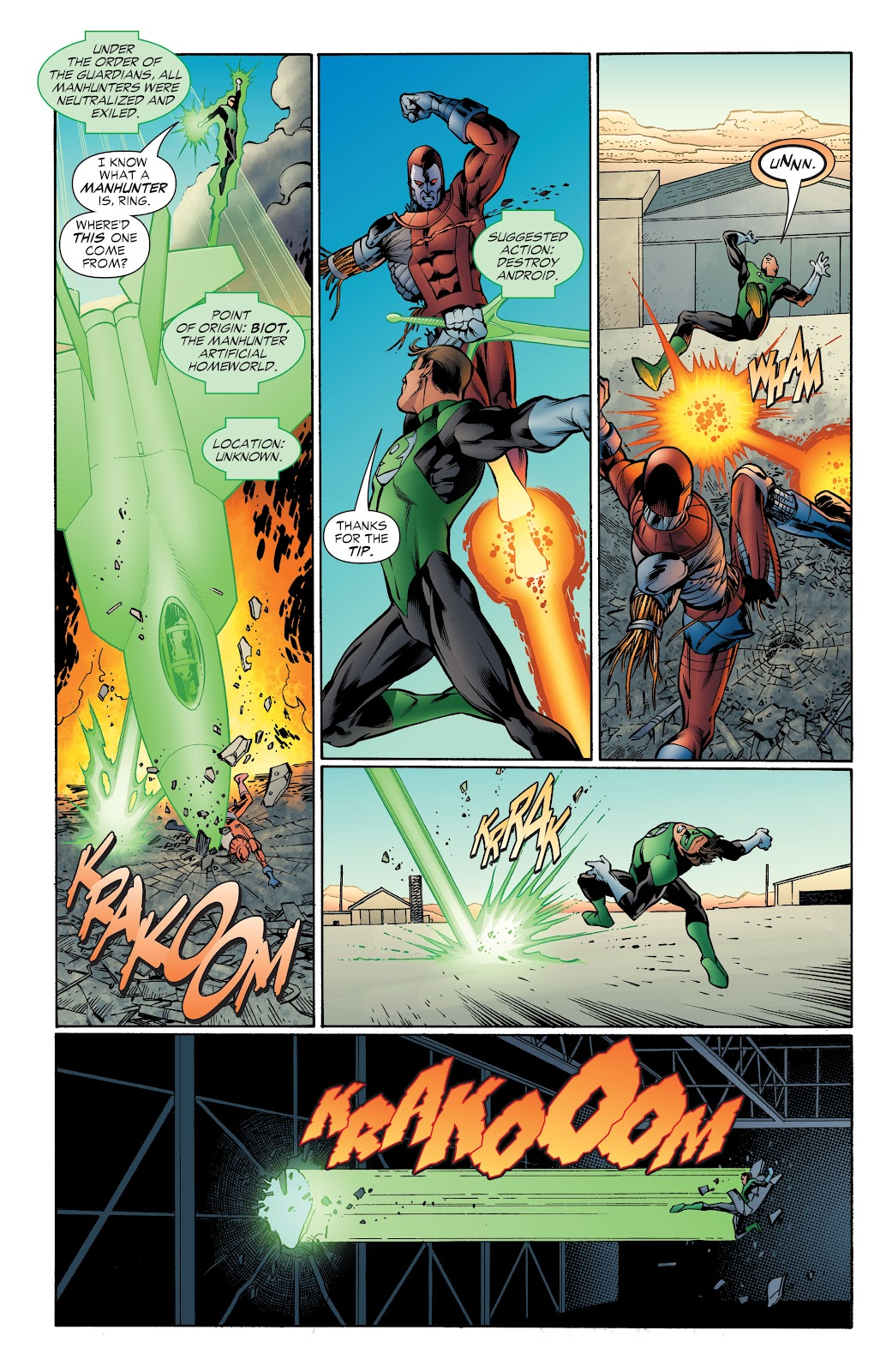 Read online Green Lantern by Geoff Johns comic -  Issue # TPB 1 (Part 4) - 41