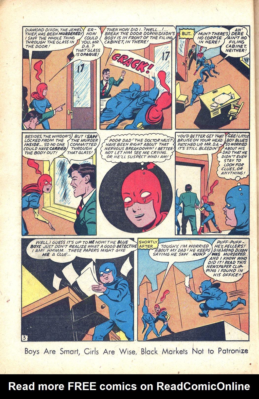 Read online Sensation (Mystery) Comics comic -  Issue #34 - 26