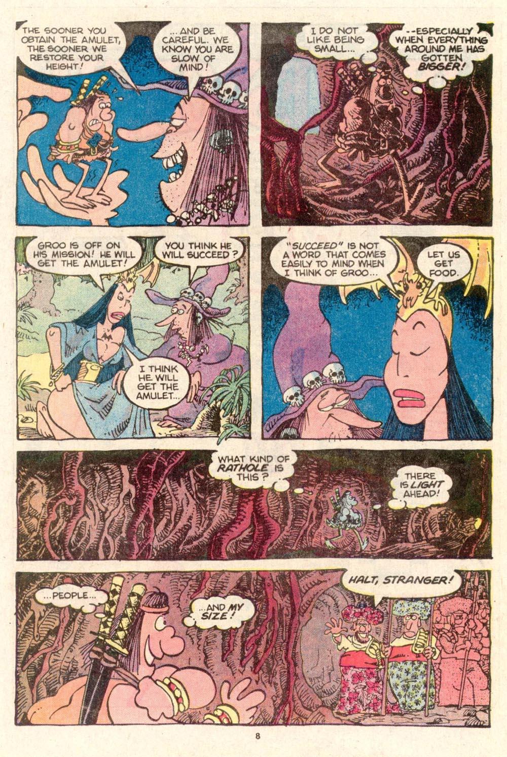 Read online Sergio Aragonés Groo the Wanderer comic -  Issue #26 - 9
