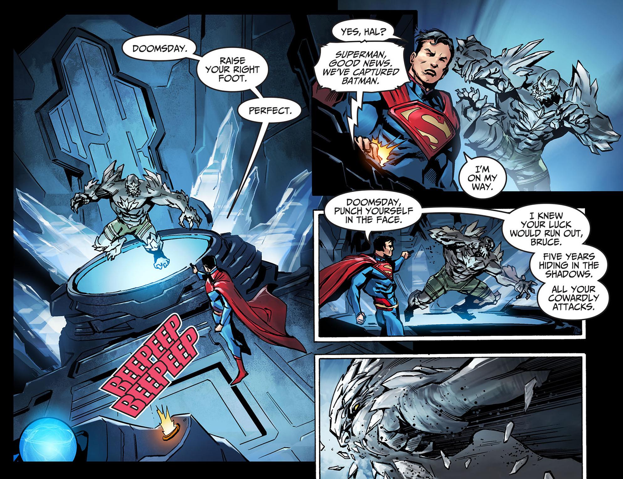 Read online Injustice: Ground Zero comic -  Issue #5 - 4