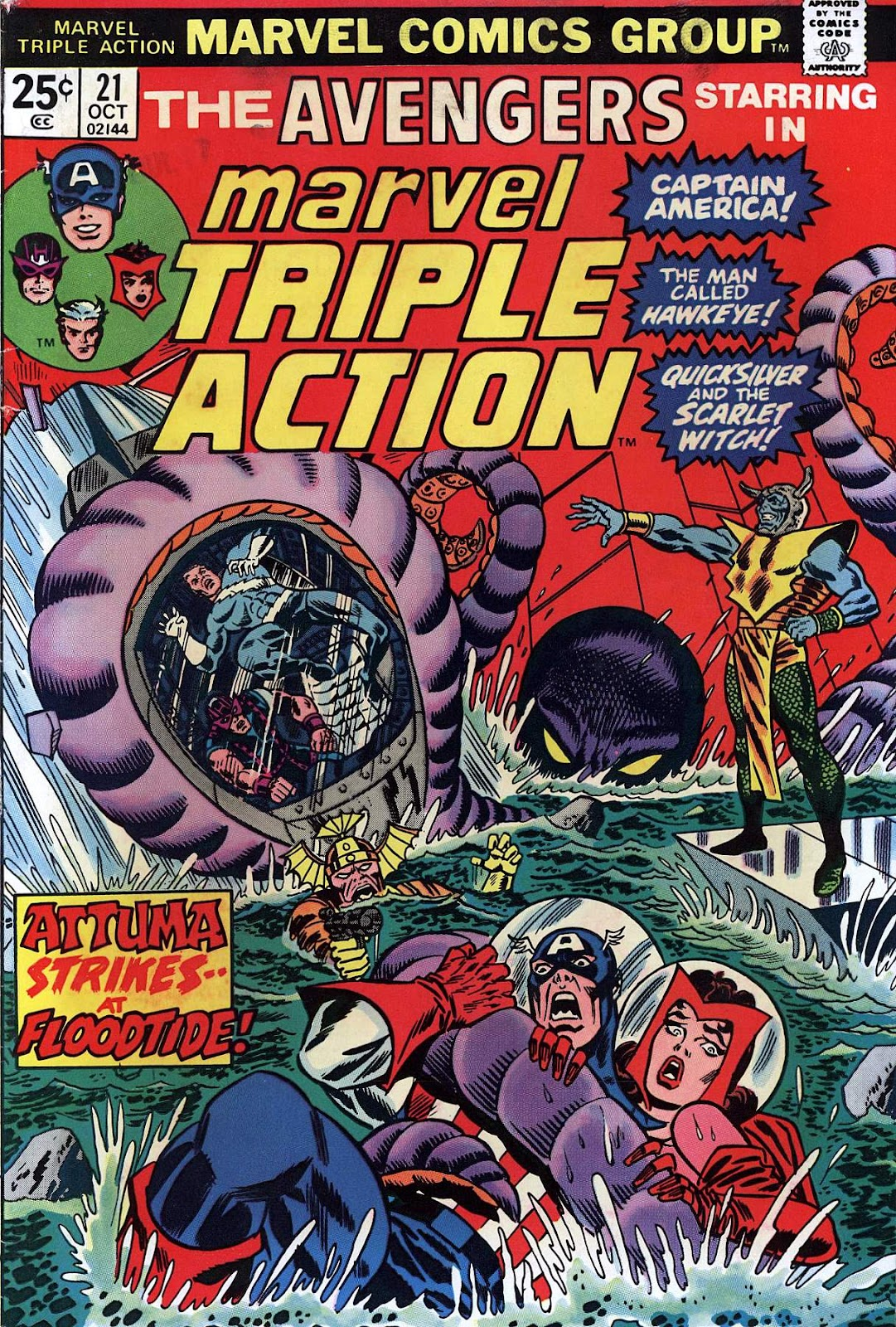 Marvel Triple Action (1972) issue 21 - Page 1