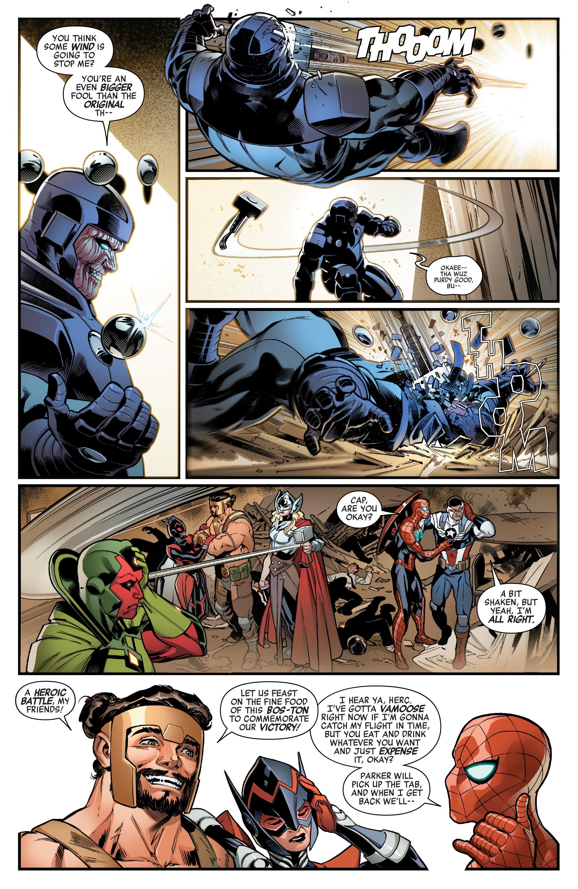 Read online Avengers (2016) comic -  Issue #1.MU - 15