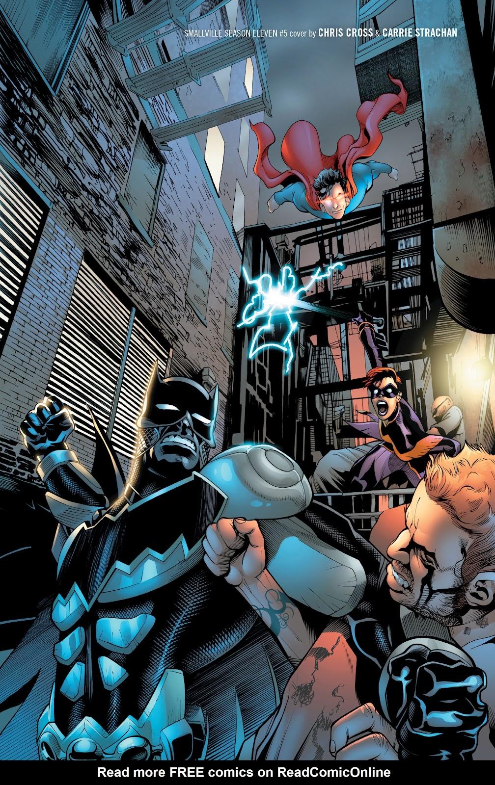 Read online Smallville Season 11 [II] comic -  Issue # TPB 2 - 5
