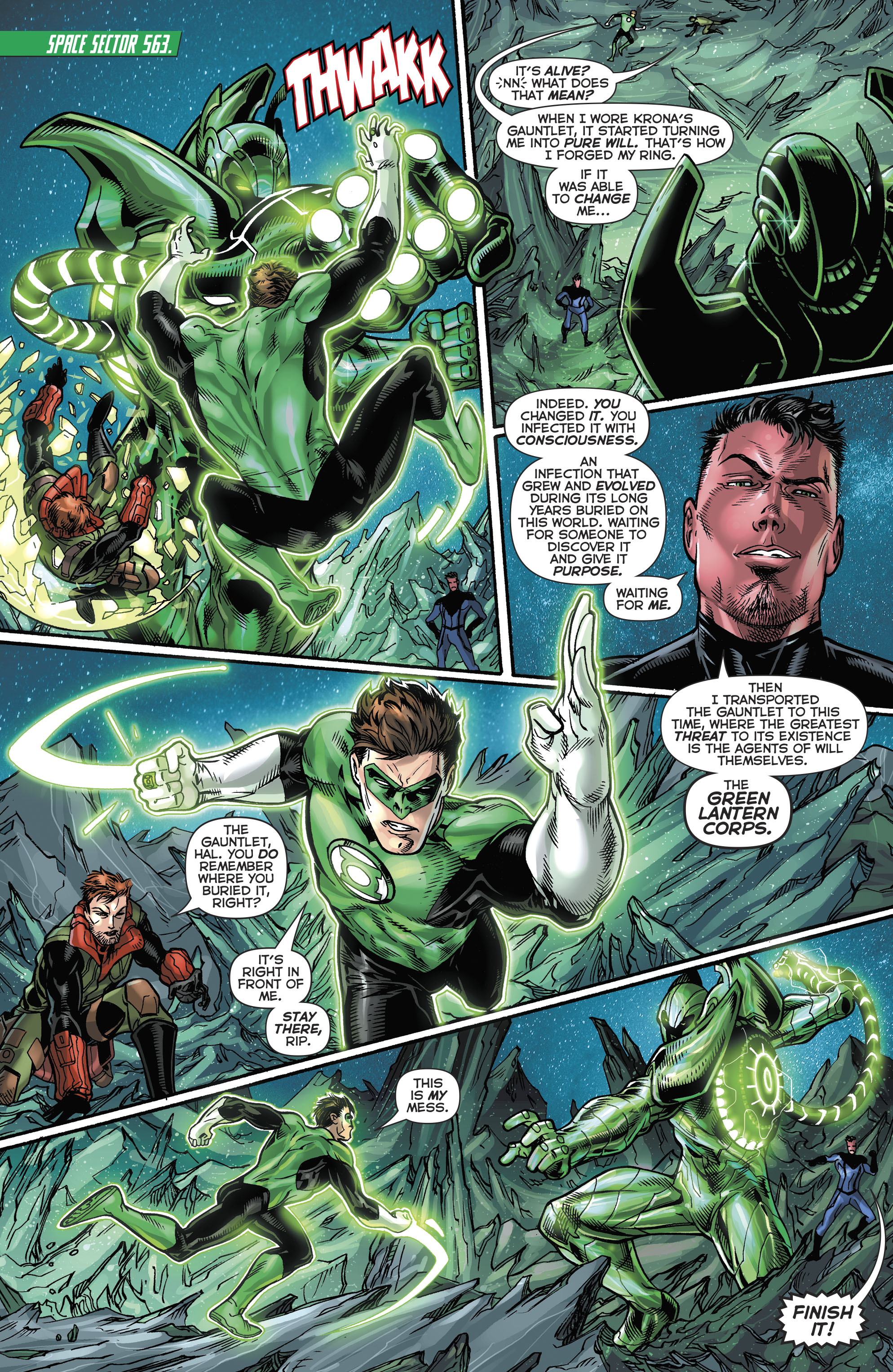 Read online Hal Jordan And The Green Lantern Corps comic -  Issue #21 - 16