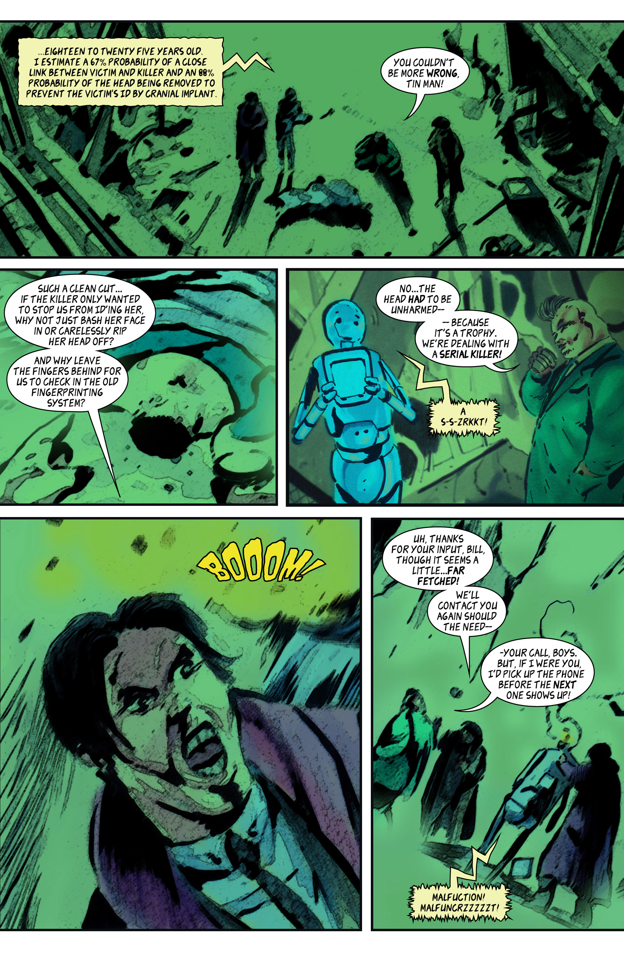 Read online 100% Biodegradable comic -  Issue #14 - 23