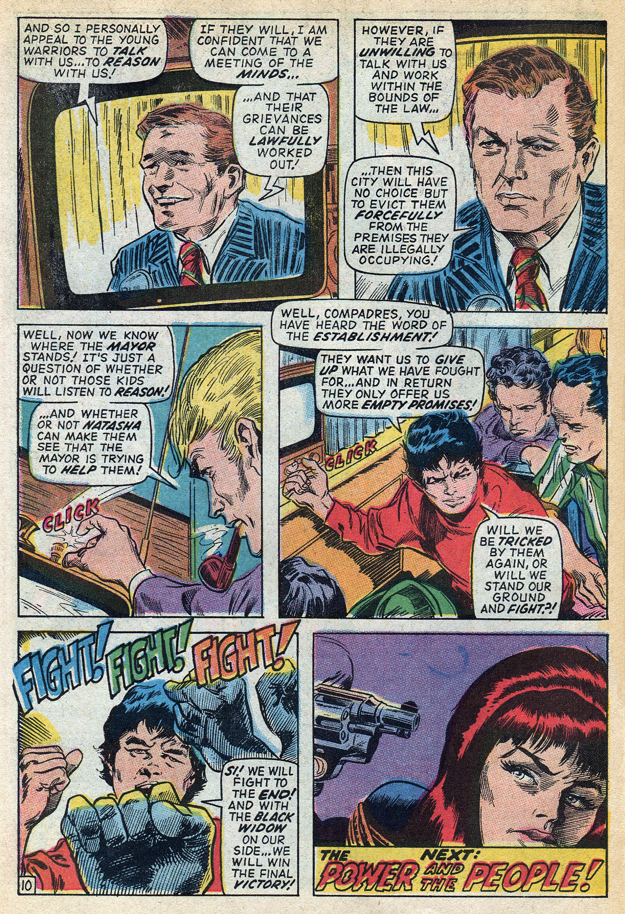 Read online Amazing Adventures (1970) comic -  Issue #3 - 30