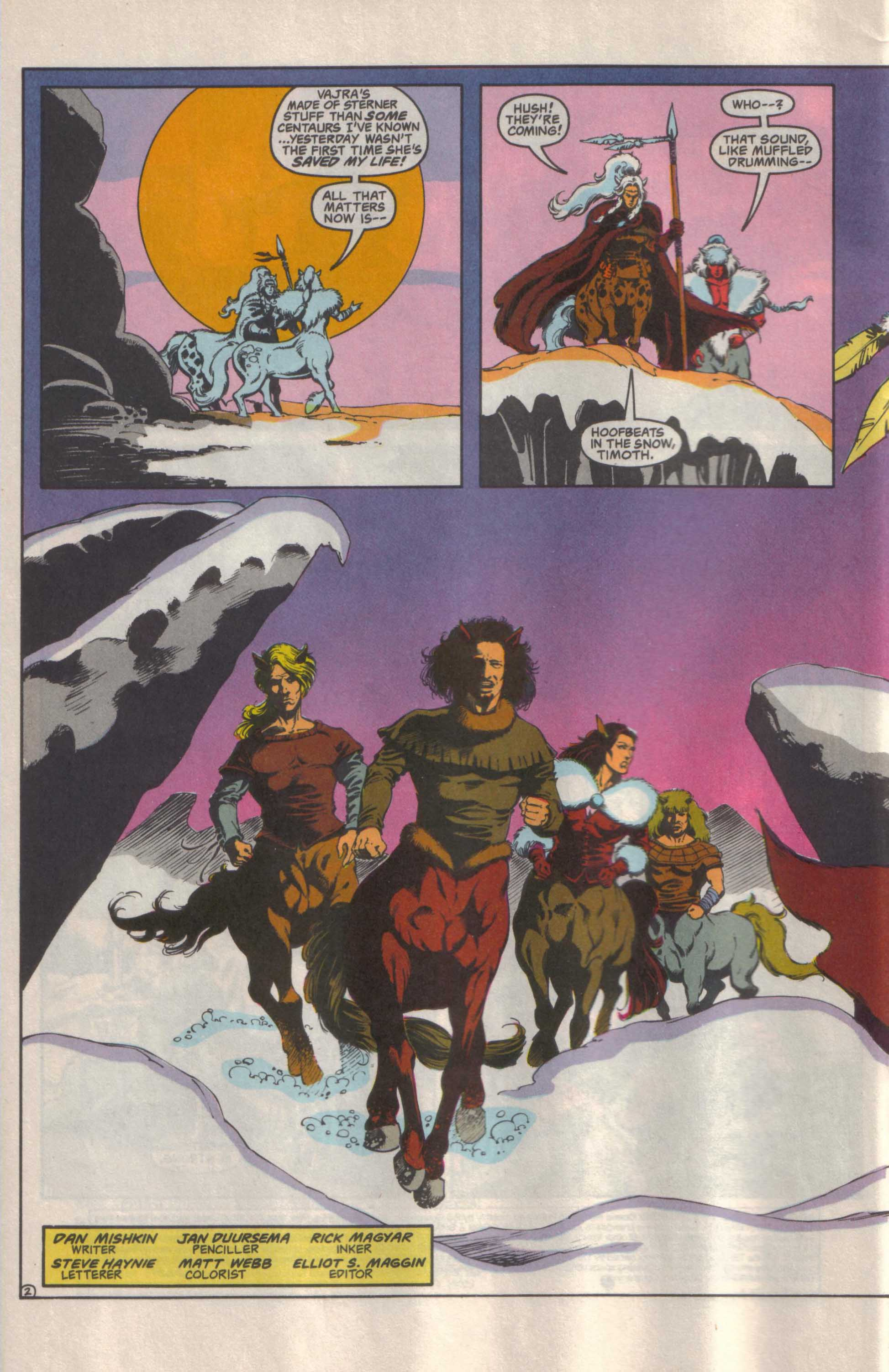 Read online Advanced Dungeons & Dragons comic -  Issue #25 - 3