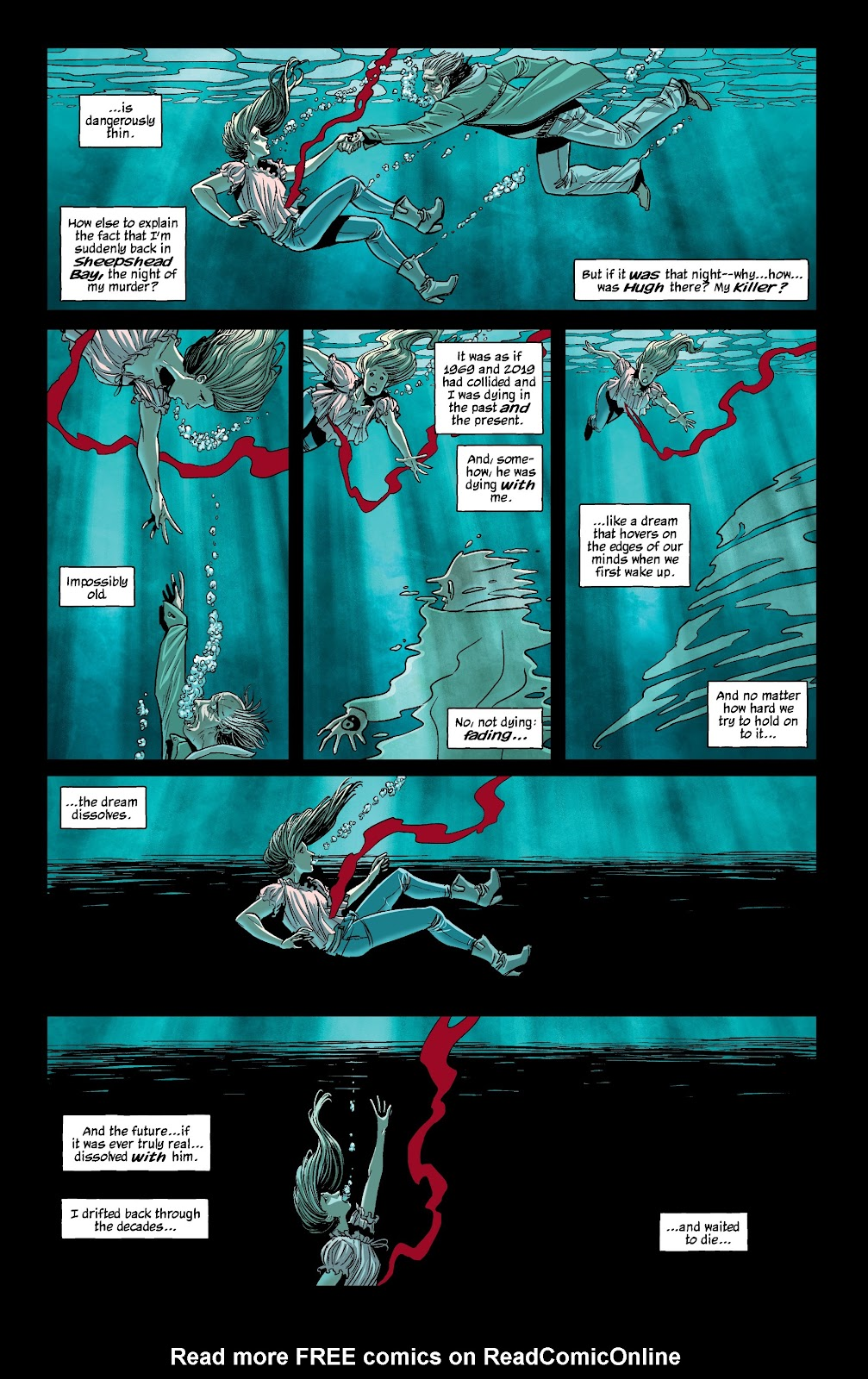 Read online The Girl In The Bay comic -  Issue #4 - 6