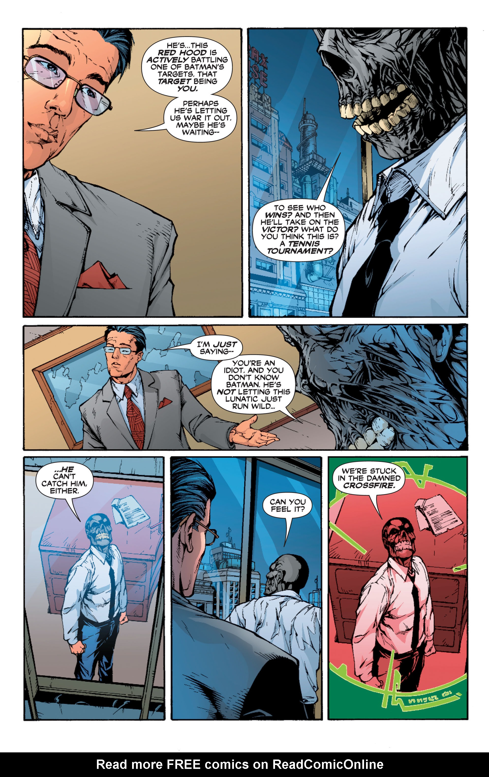 Read online Batman: Under The Red Hood comic -  Issue # Full - 212