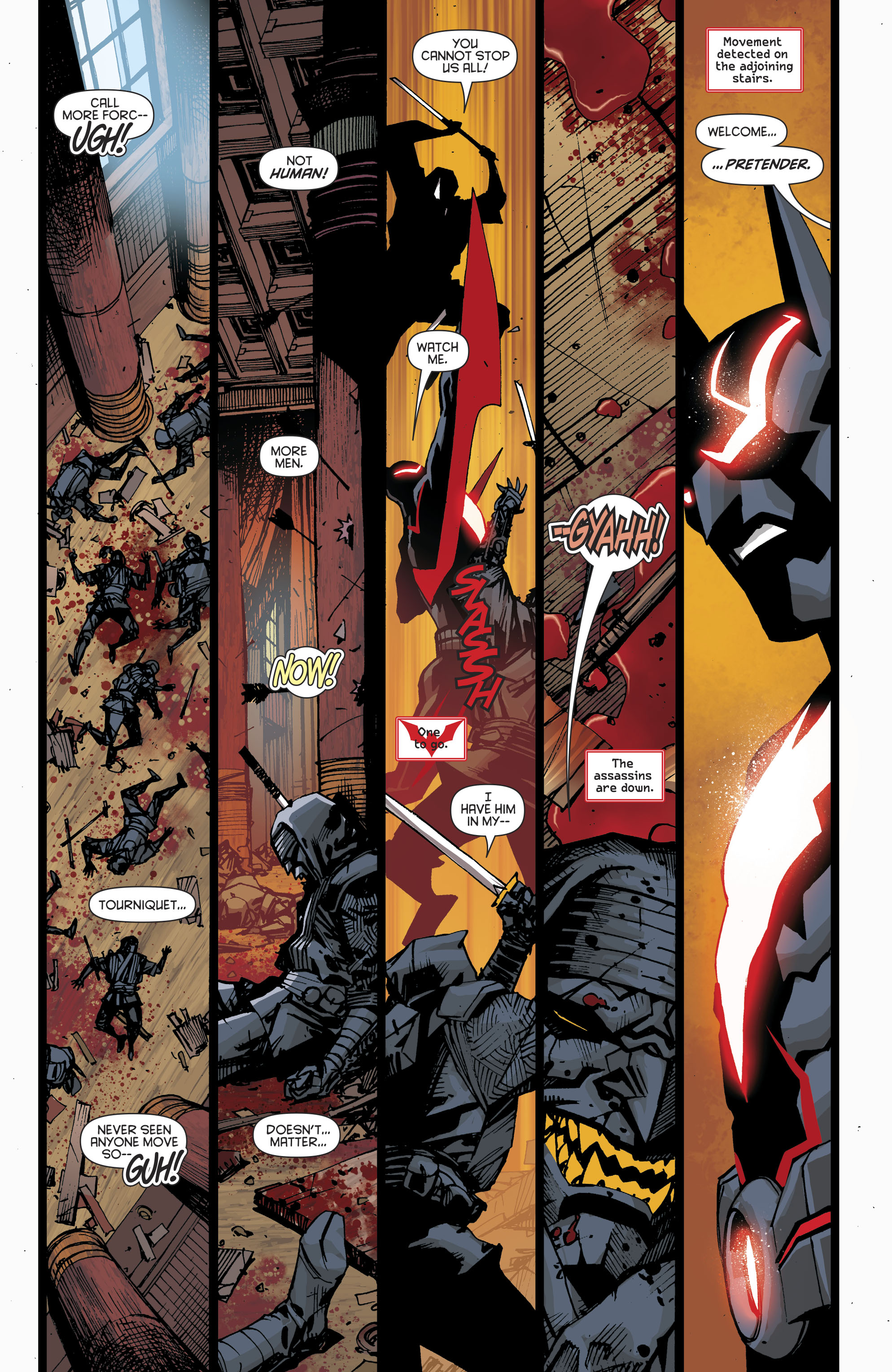 Read online Batman Beyond (2016) comic -  Issue #8 - 19